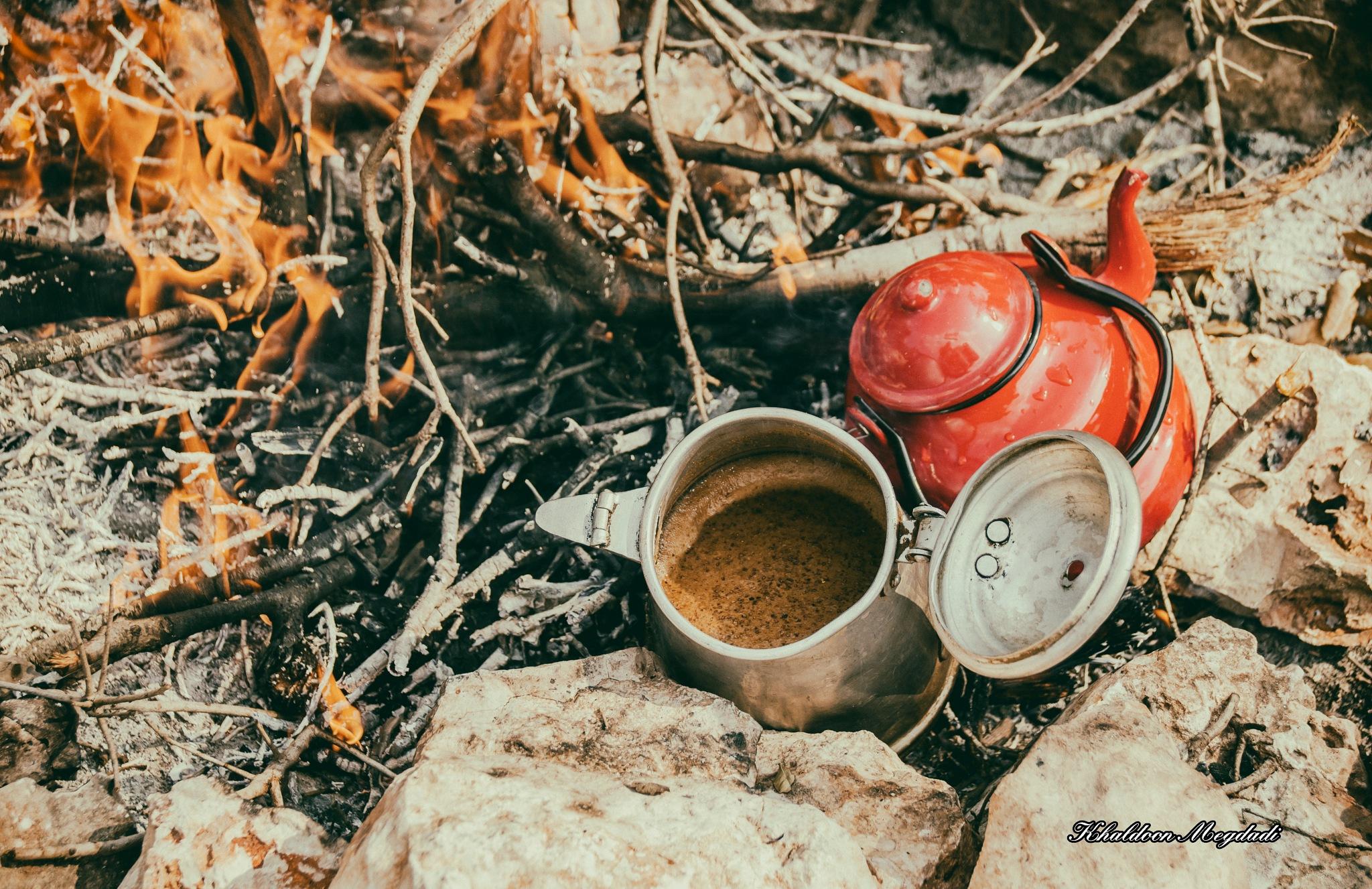 Arabic coffee by Abu Ordon