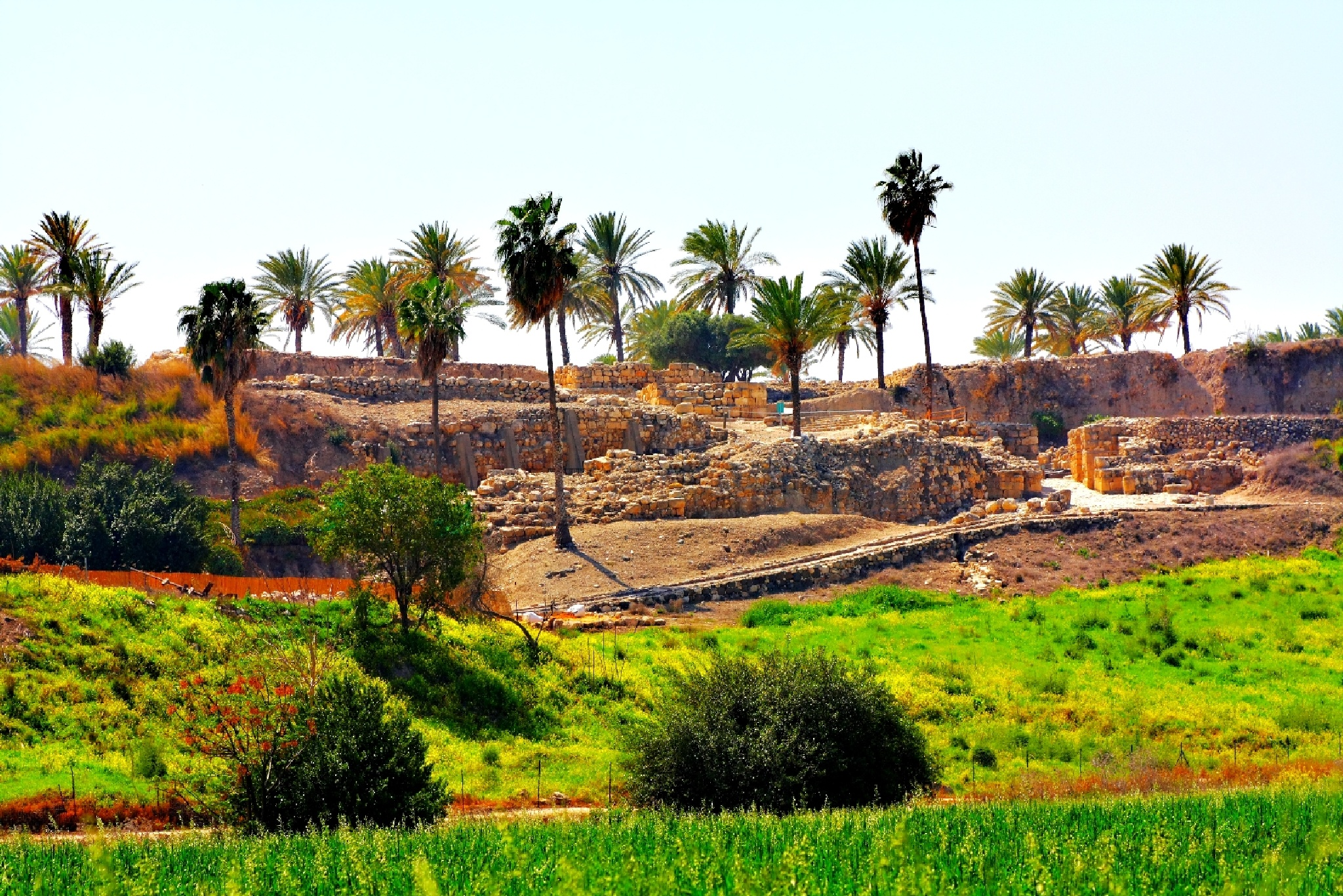 point of Armageddon.Tel Megiddo.Israel by Konstantin Bolotinsky