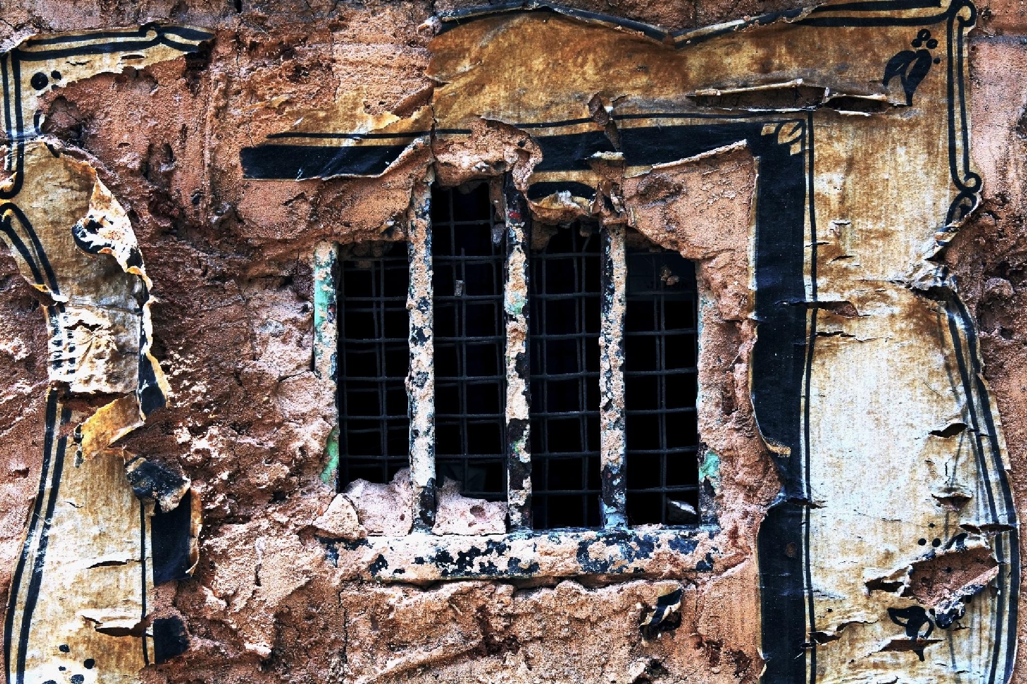 prison window by Konstantin Bolotinsky