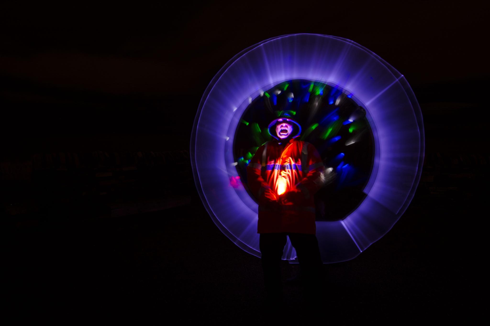 Light fantastic! by Gordon MacPherson