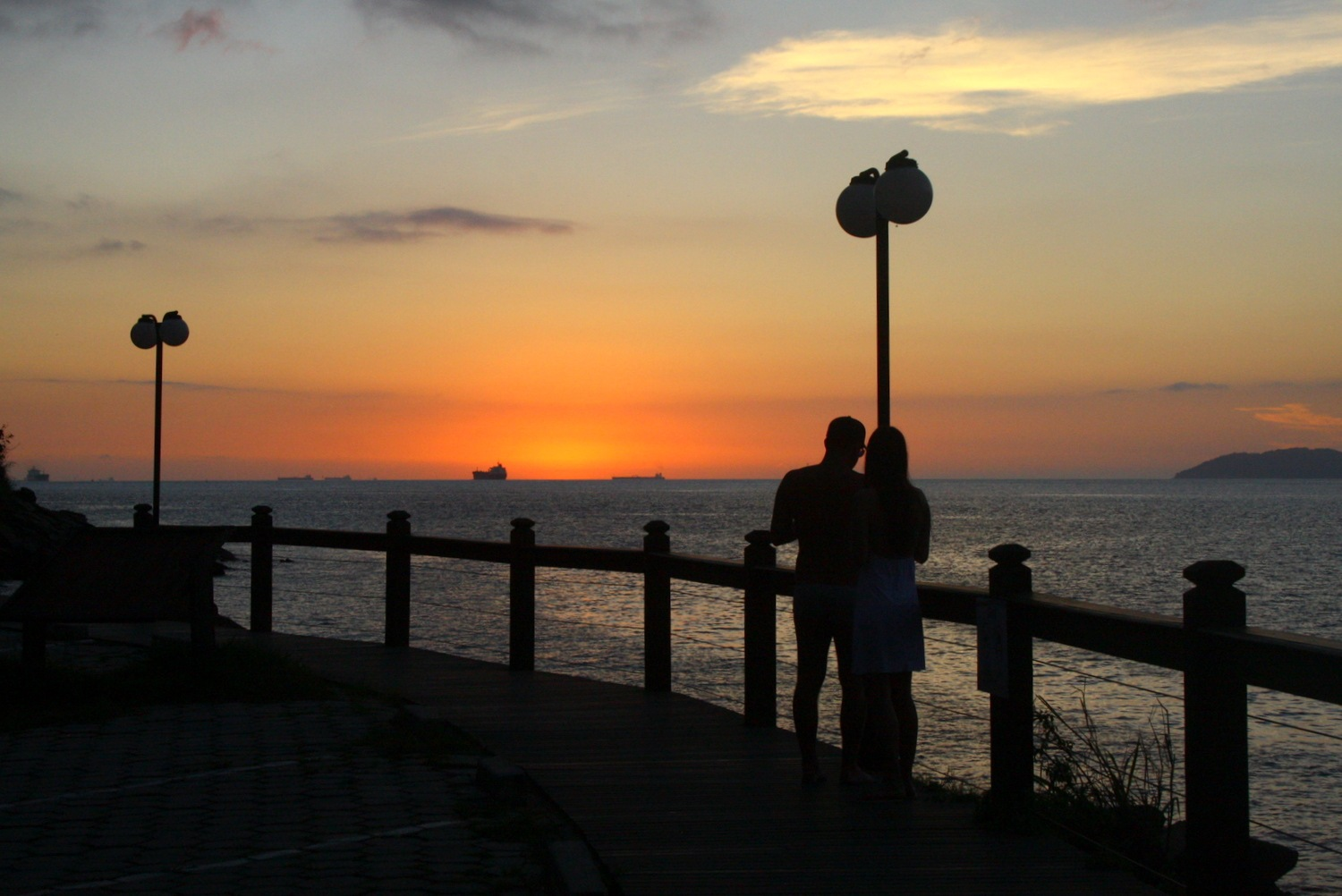 Love at sunset by Marie Asmar