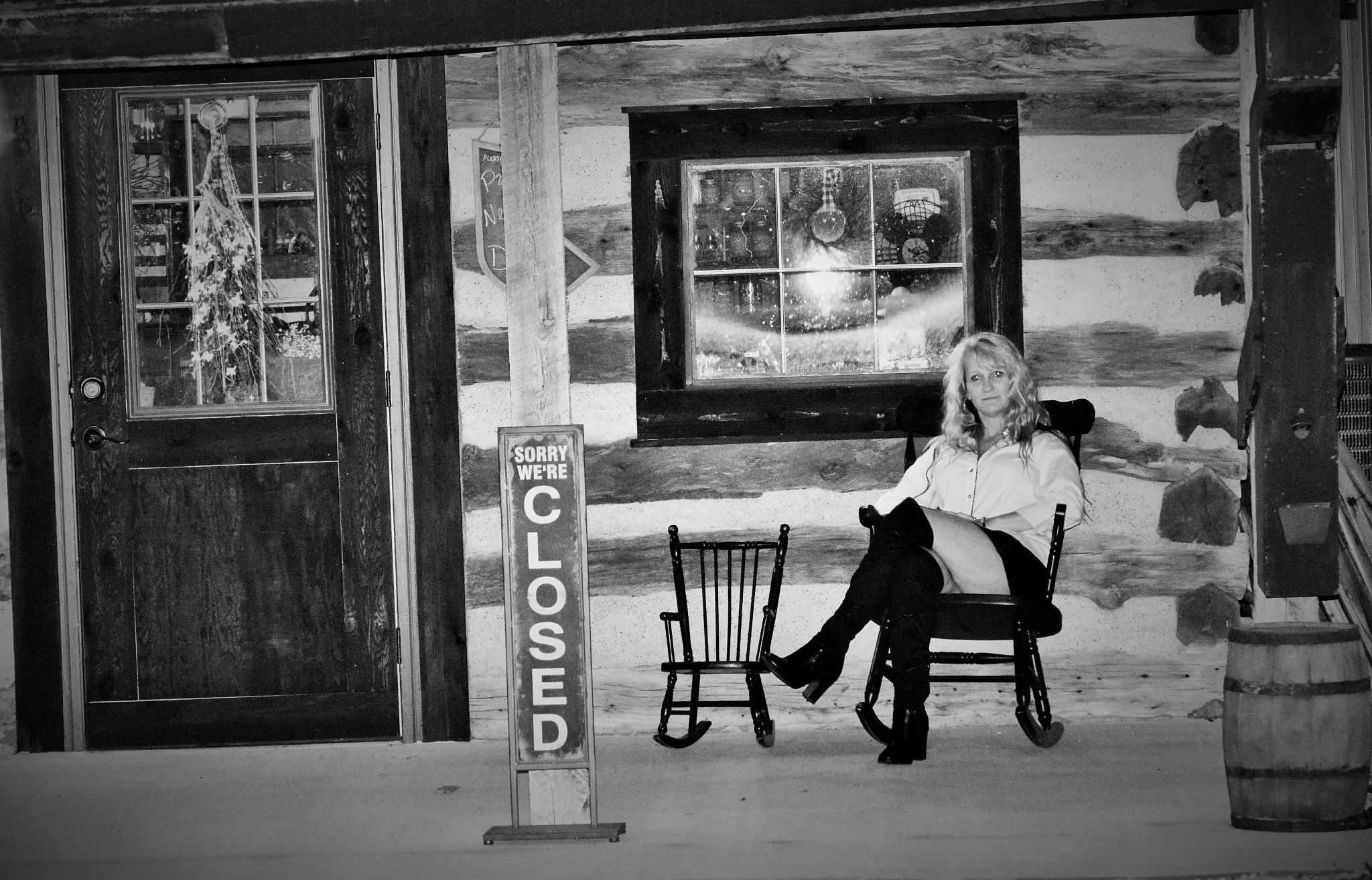 Photo session with Dawn in Historic Kimmswick, Missouri  by Cheryl Noack Photography