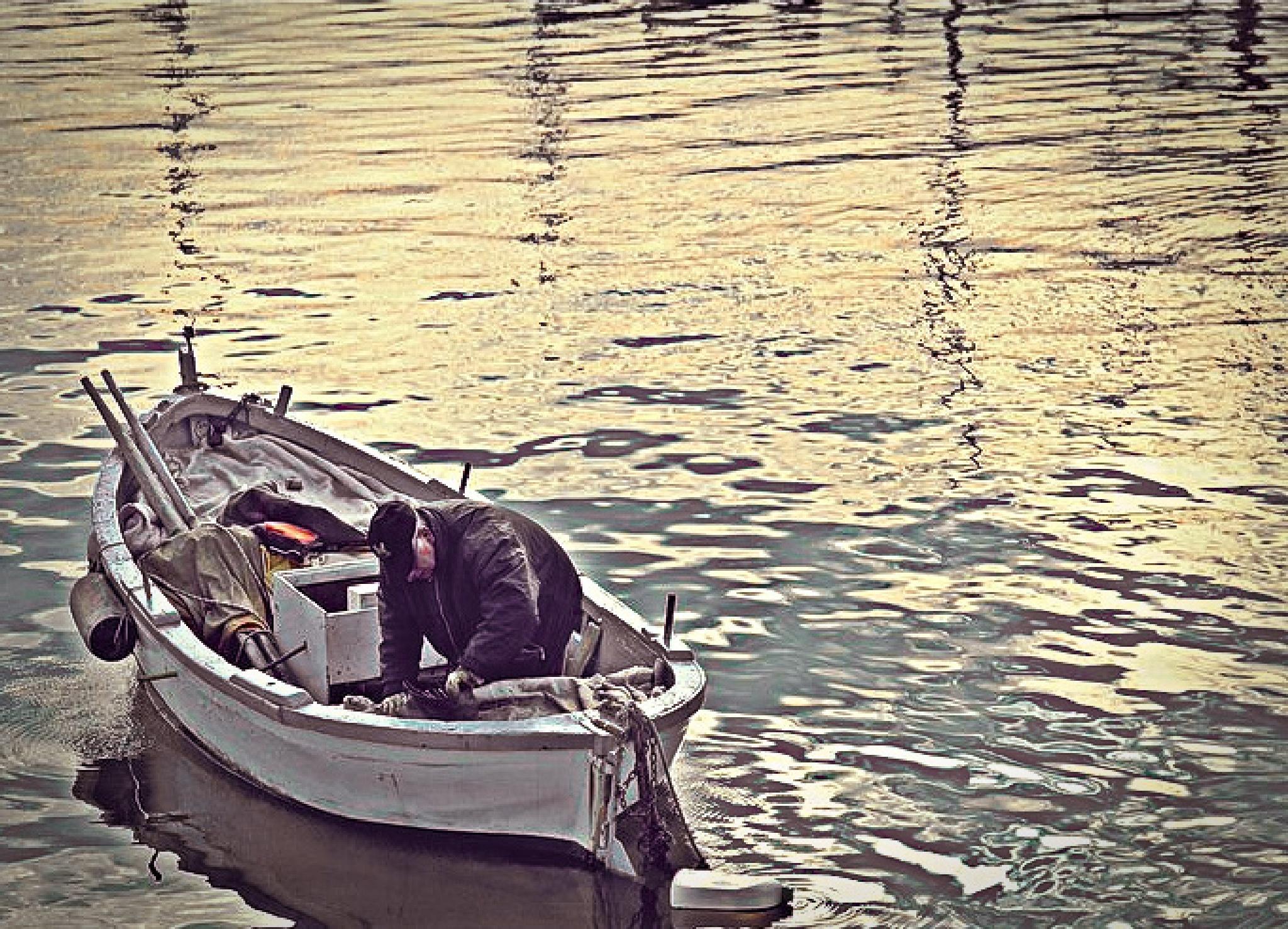 italian fisherman by Anto Lorusso