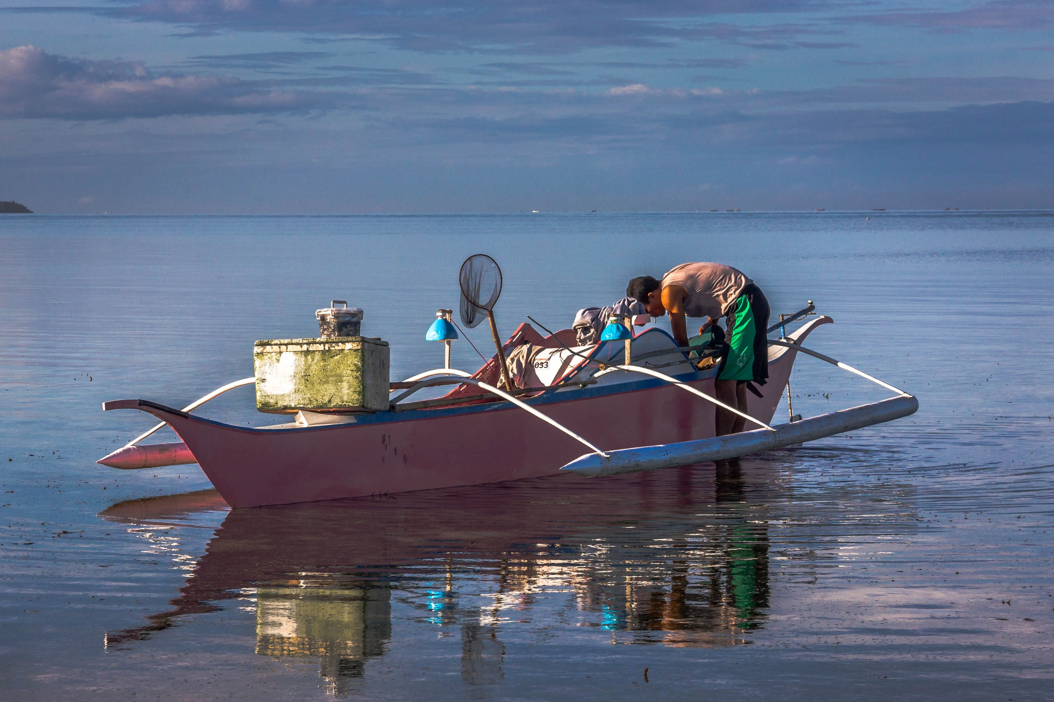 fisherman by owen s. duazo