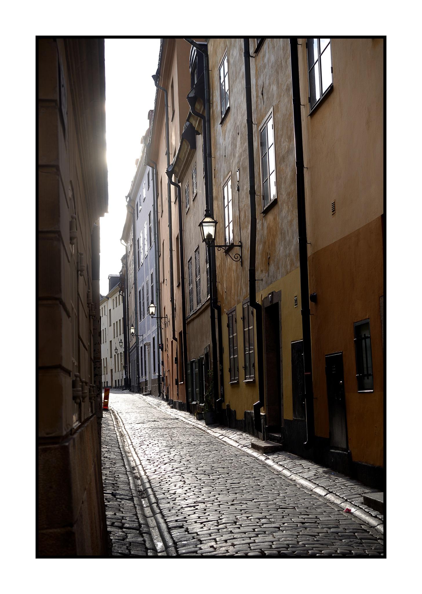 Old town by karlbertil