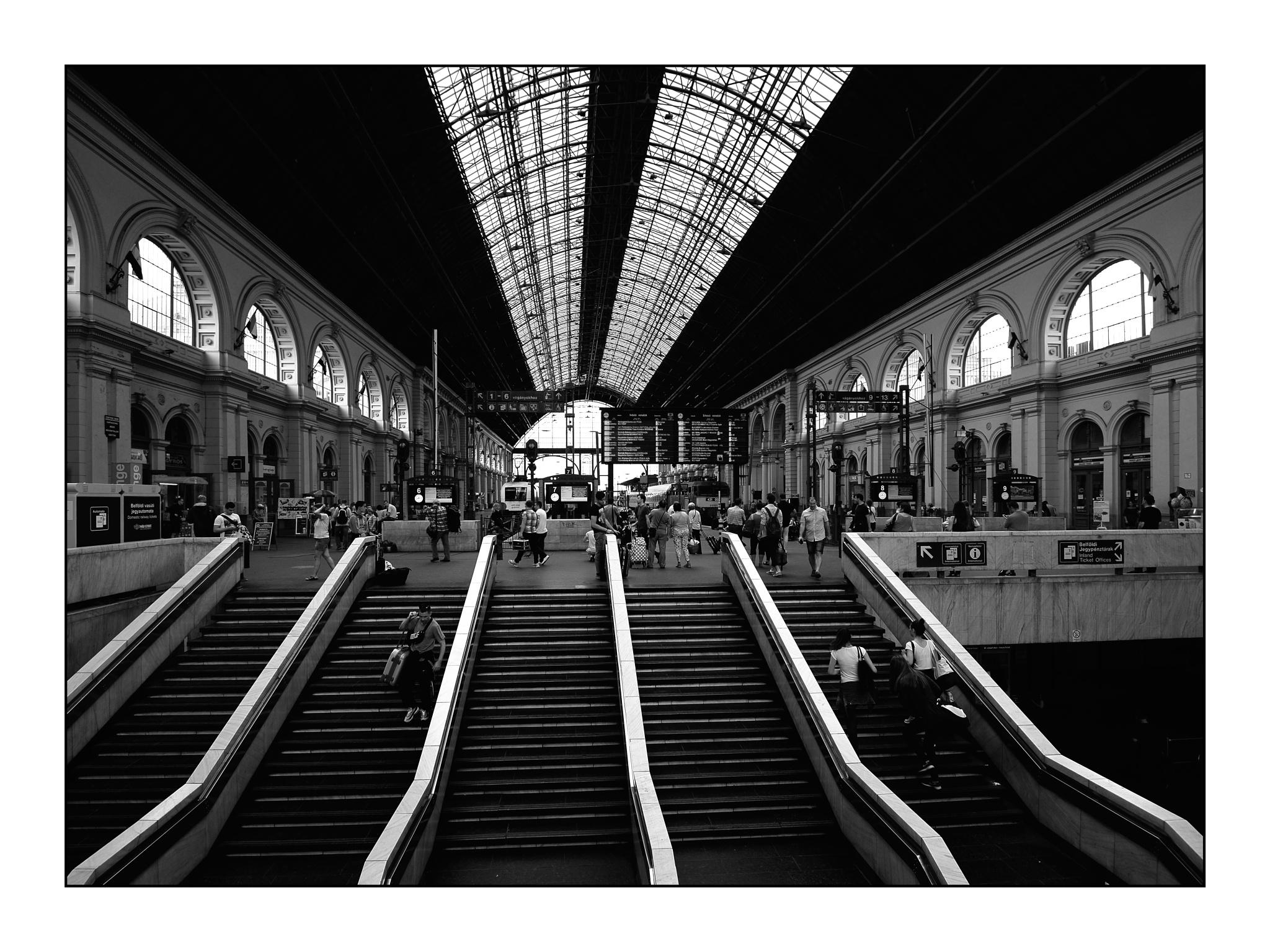Keleti railway station by karlbertil