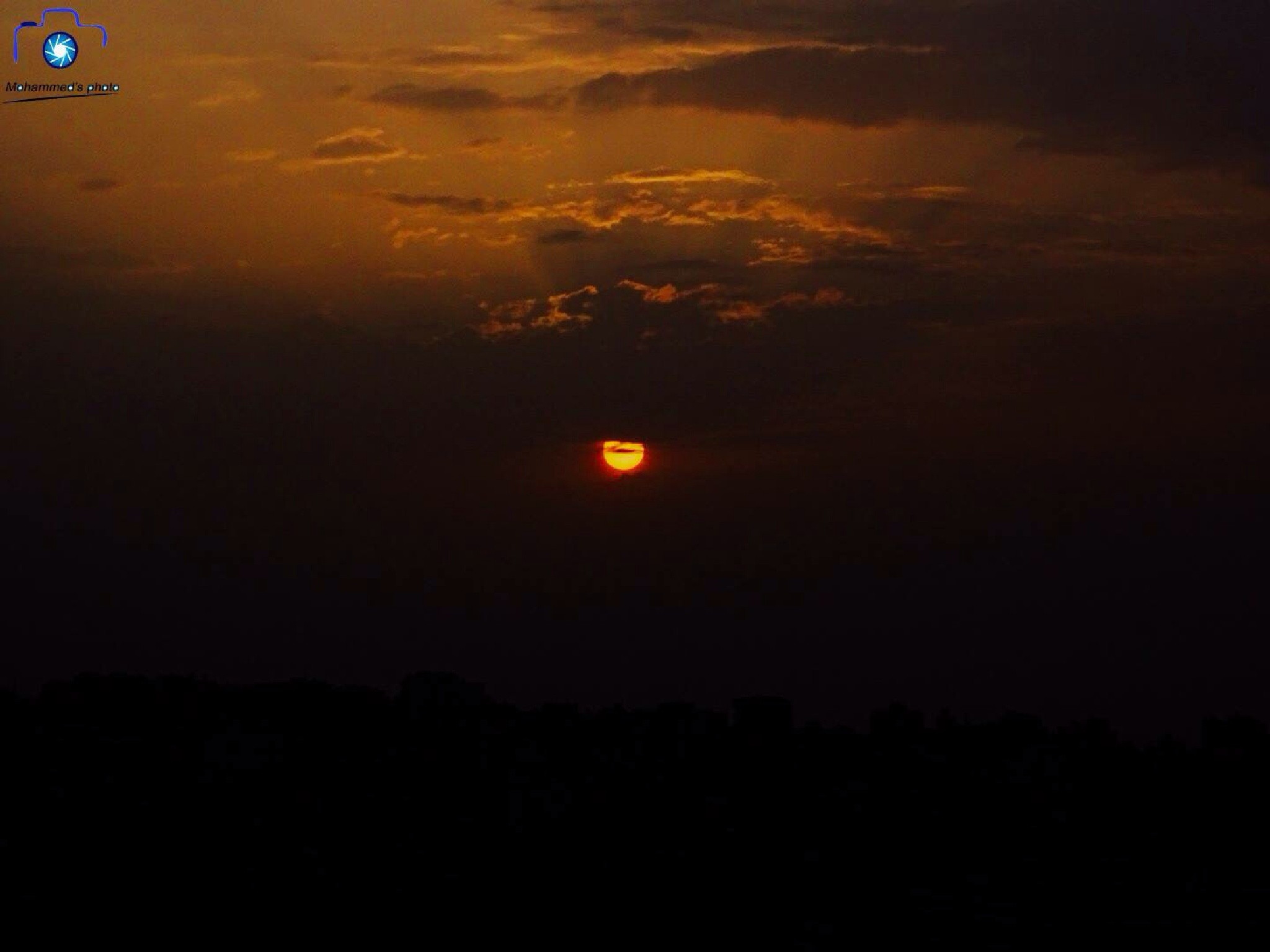 sun rise  by Mohammed Muthanna