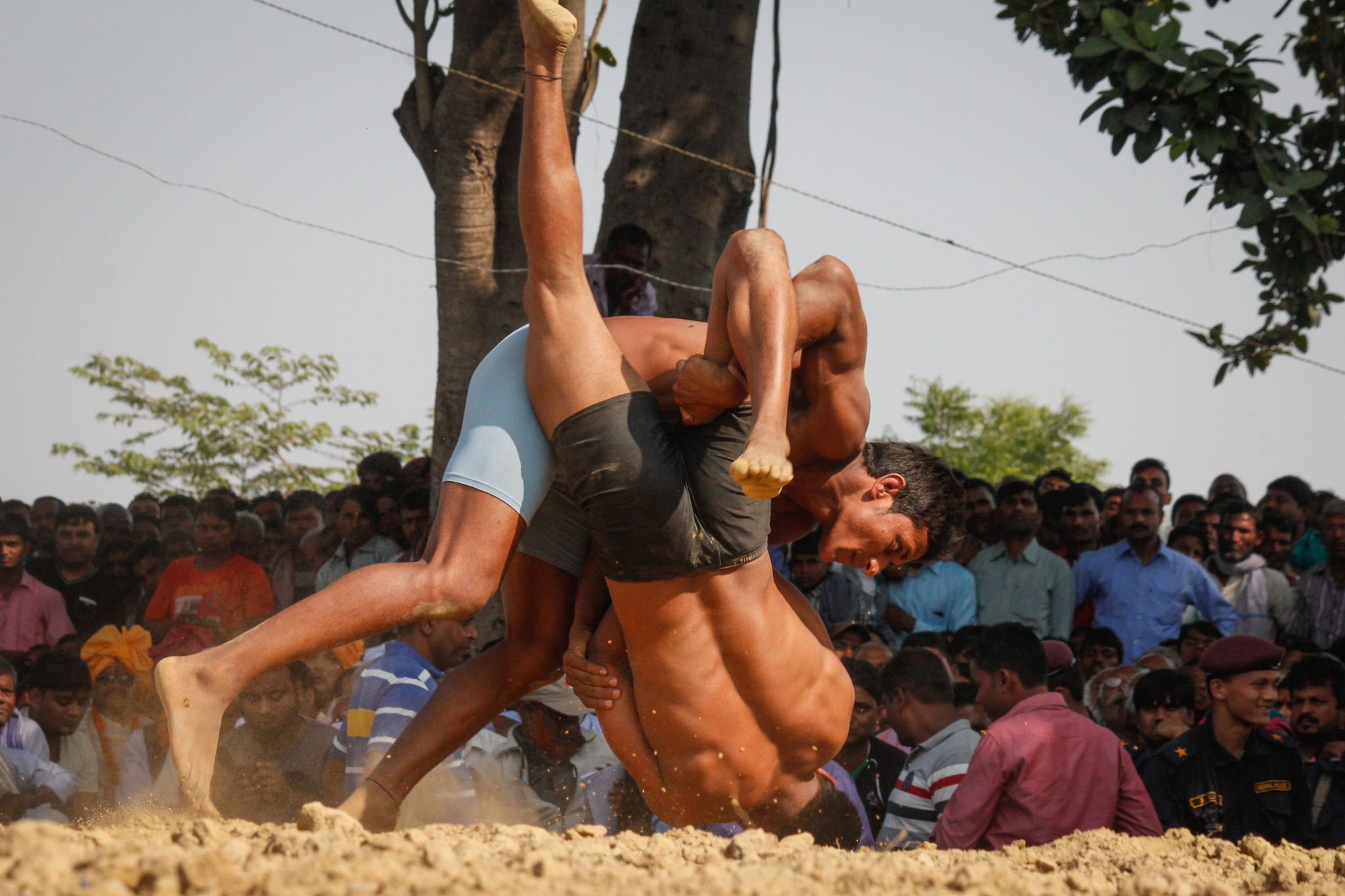 Kushti (Wrestling) by susilshah
