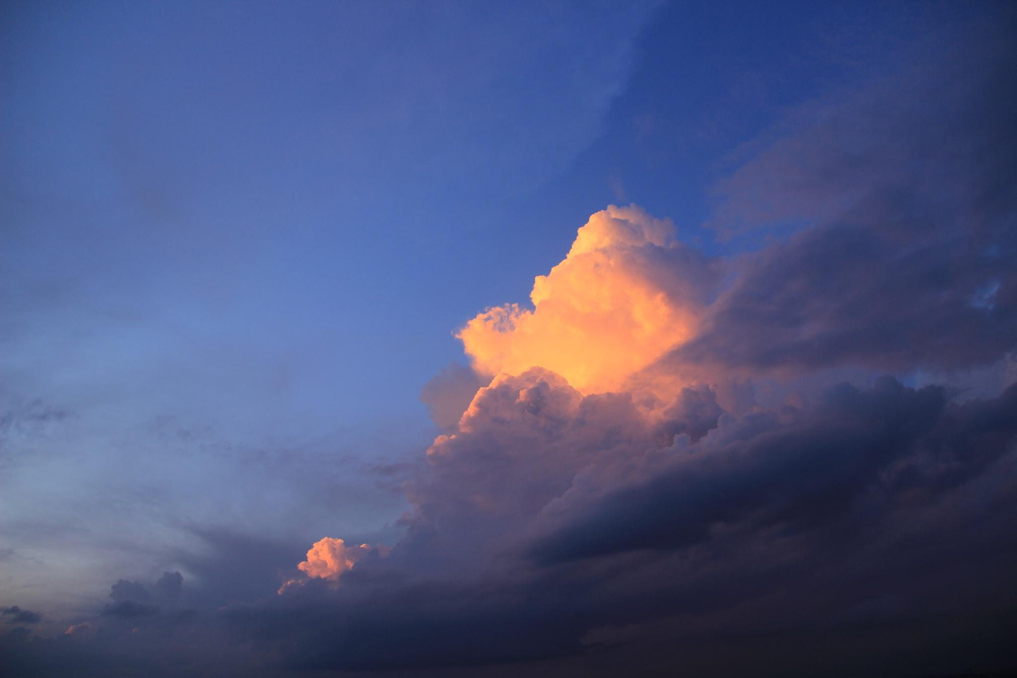 Gold in the sky. by Irineu Lúcio