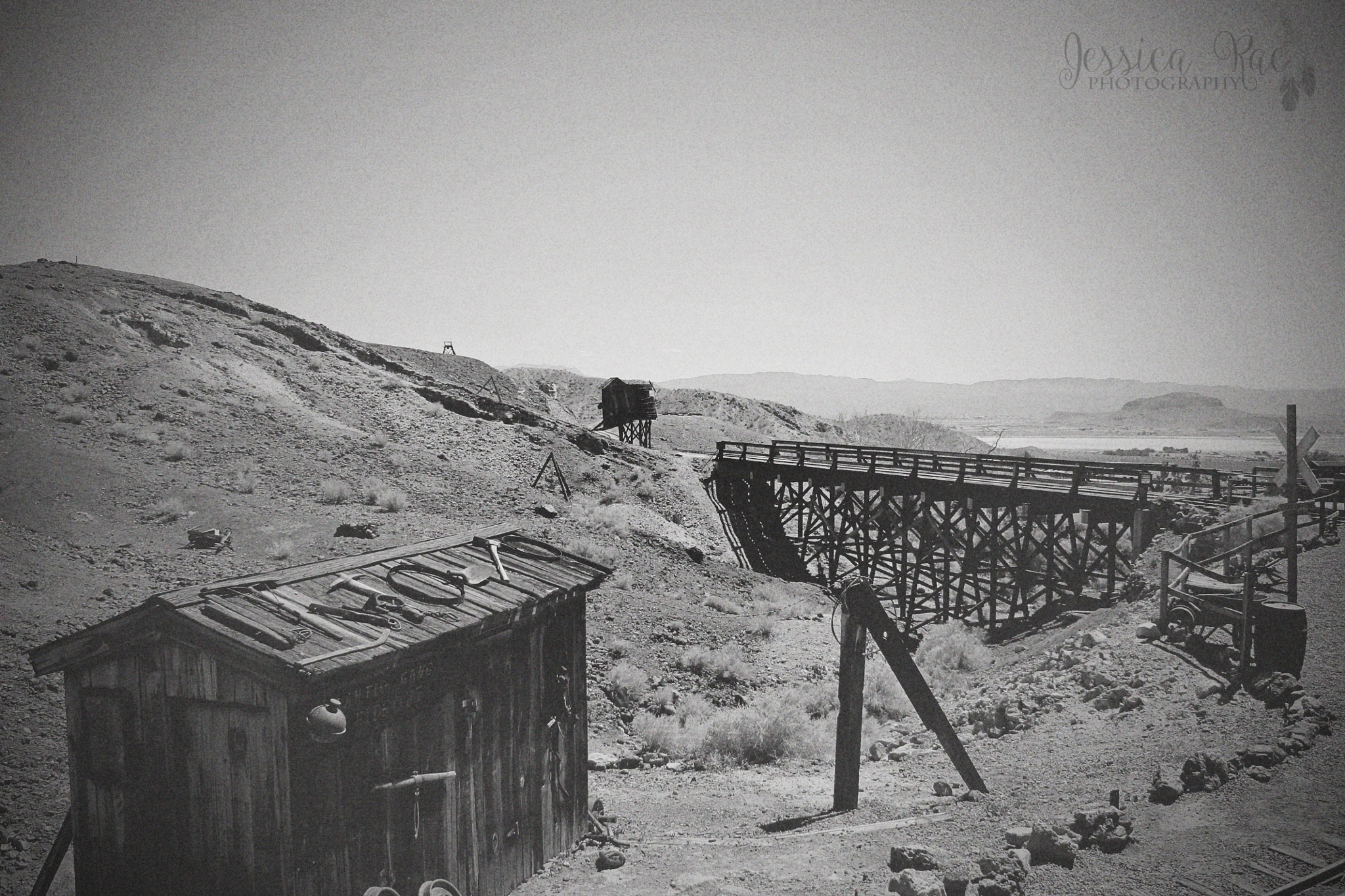 Mining tracks by JessicaCowansPhotography