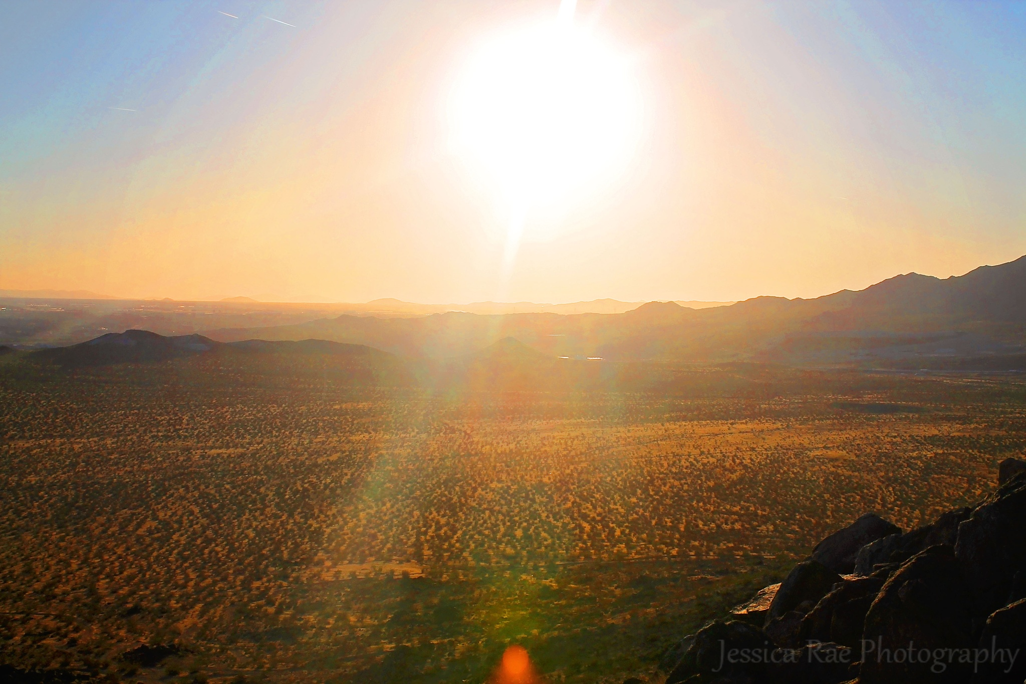 Desert Sunset by JessicaCowansPhotography