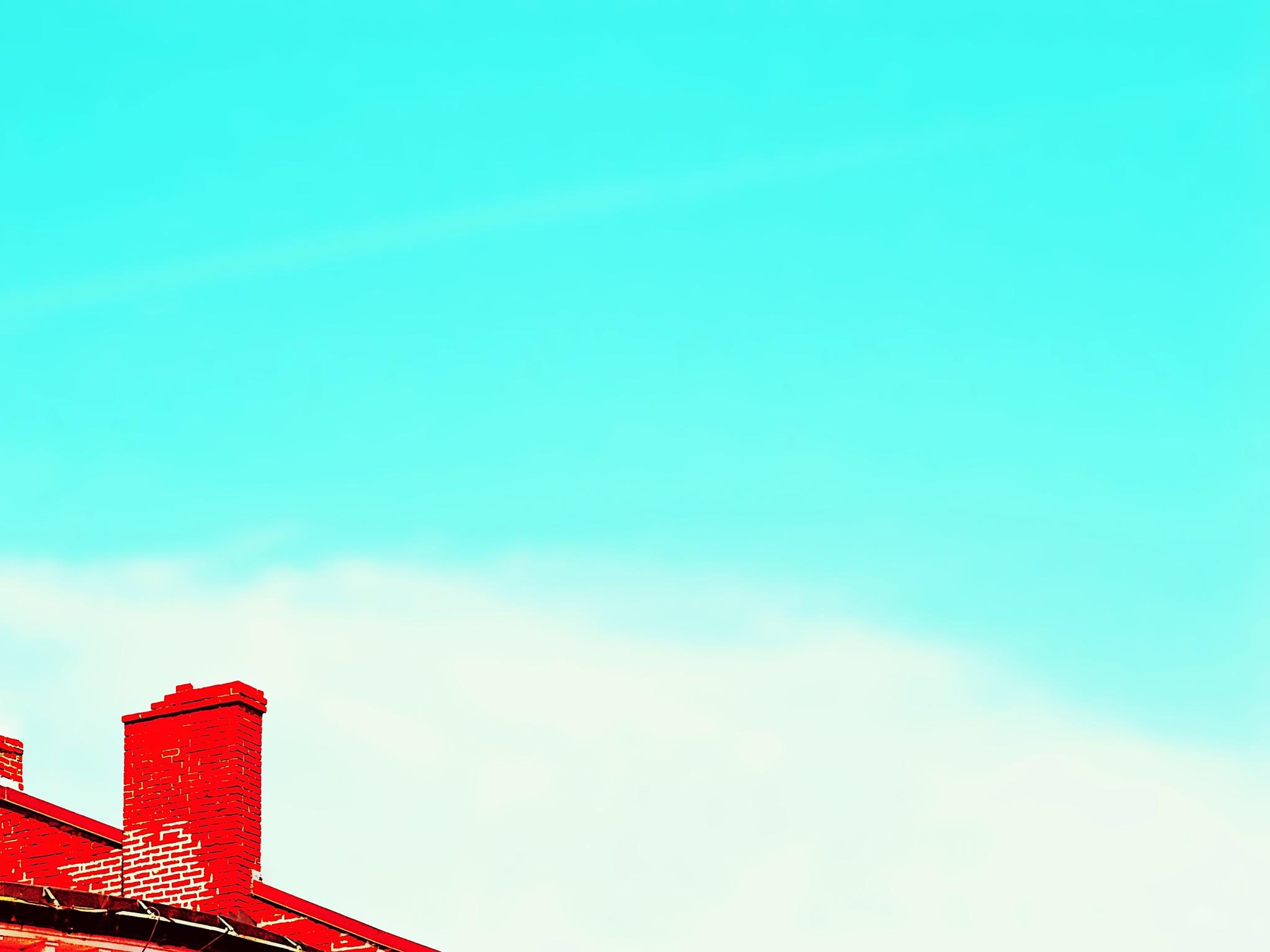 Brick chimney by dan_gildor