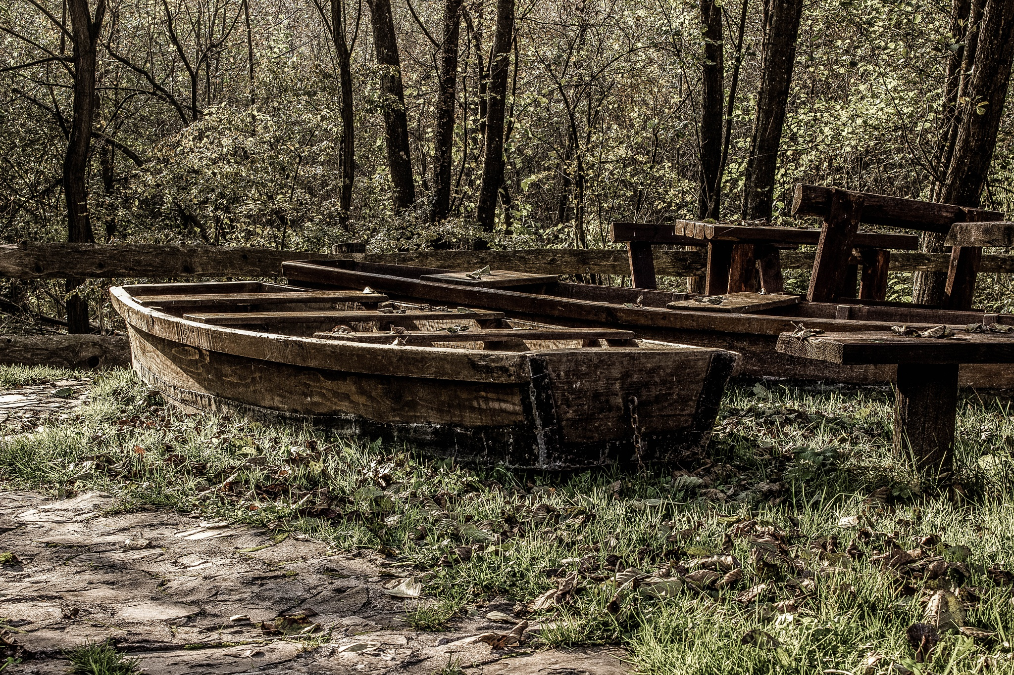 Old ship by alexerne