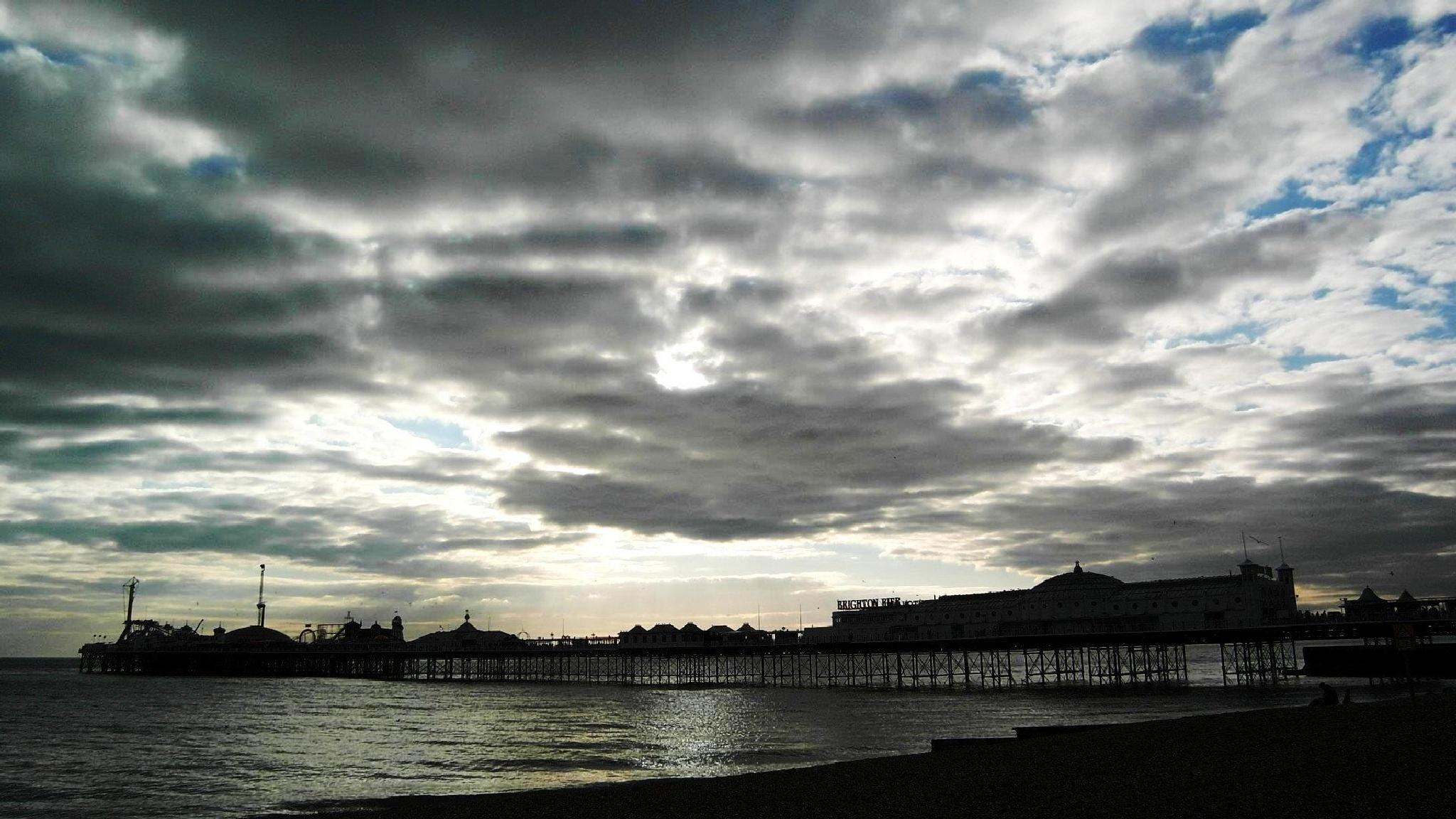 Brighton Pier, UK by Supanika Peters