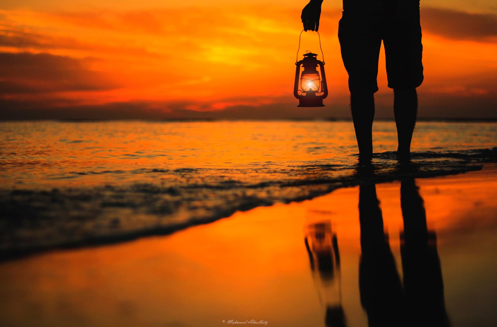 Silhouette by Mahmuod Almsllaty