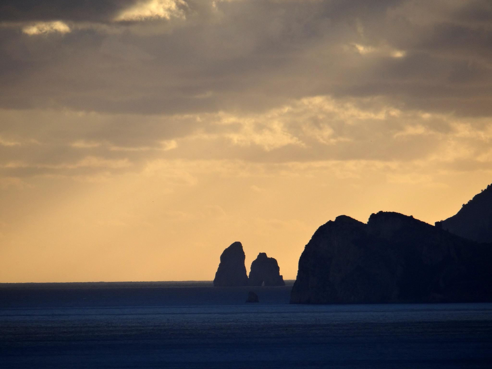 Tyrrhenian Sea by Dagmar Werth