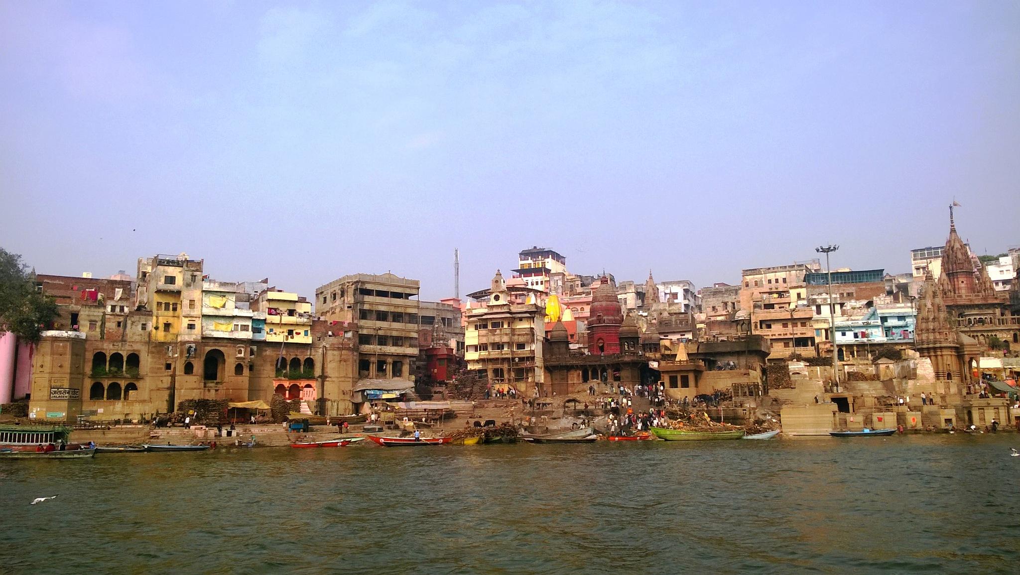 Incredible Benaras /6 by Suresh Tewari