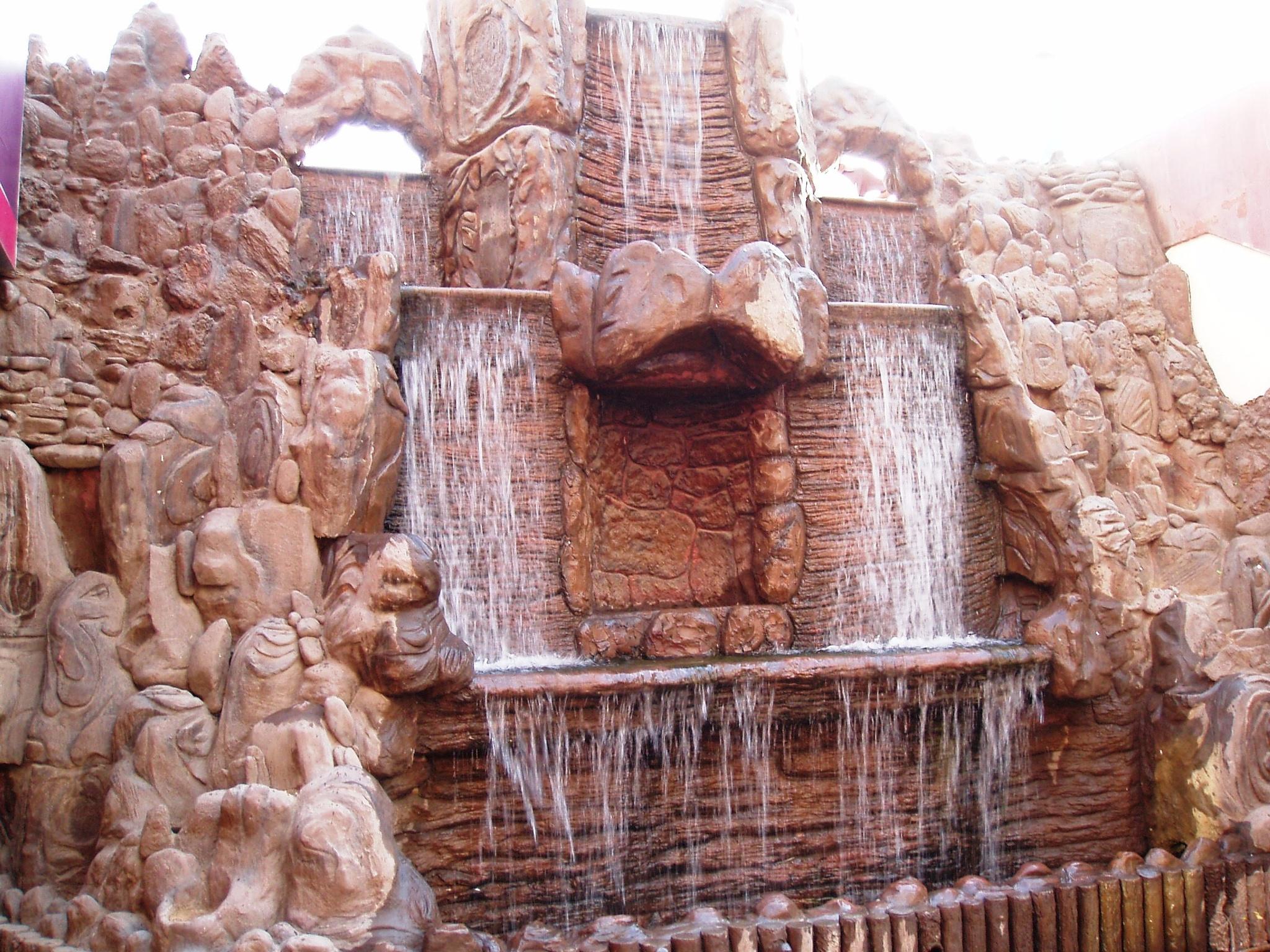 Water Wall by Suresh Tewari