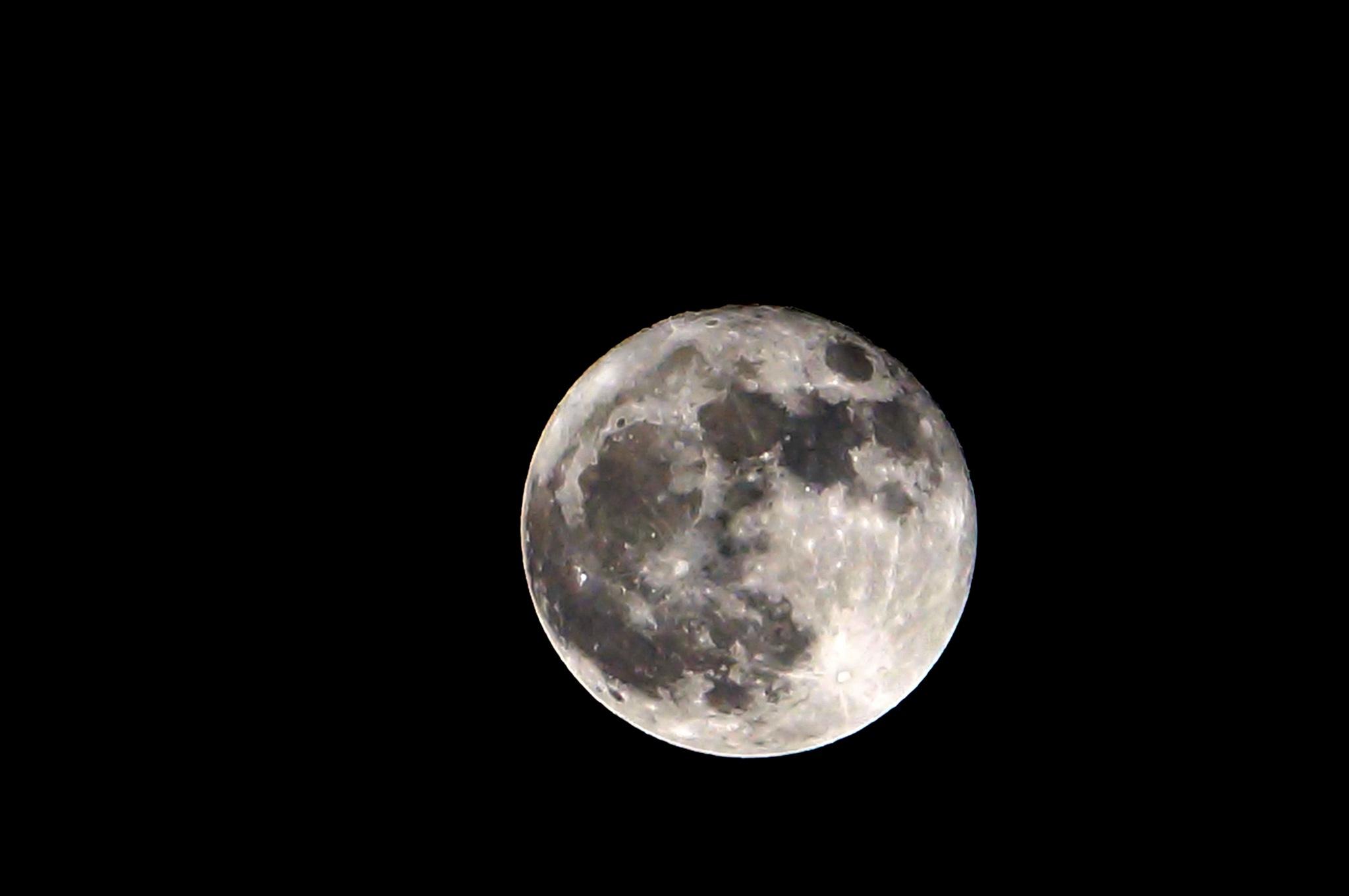 The full moon by Suresh Tewari