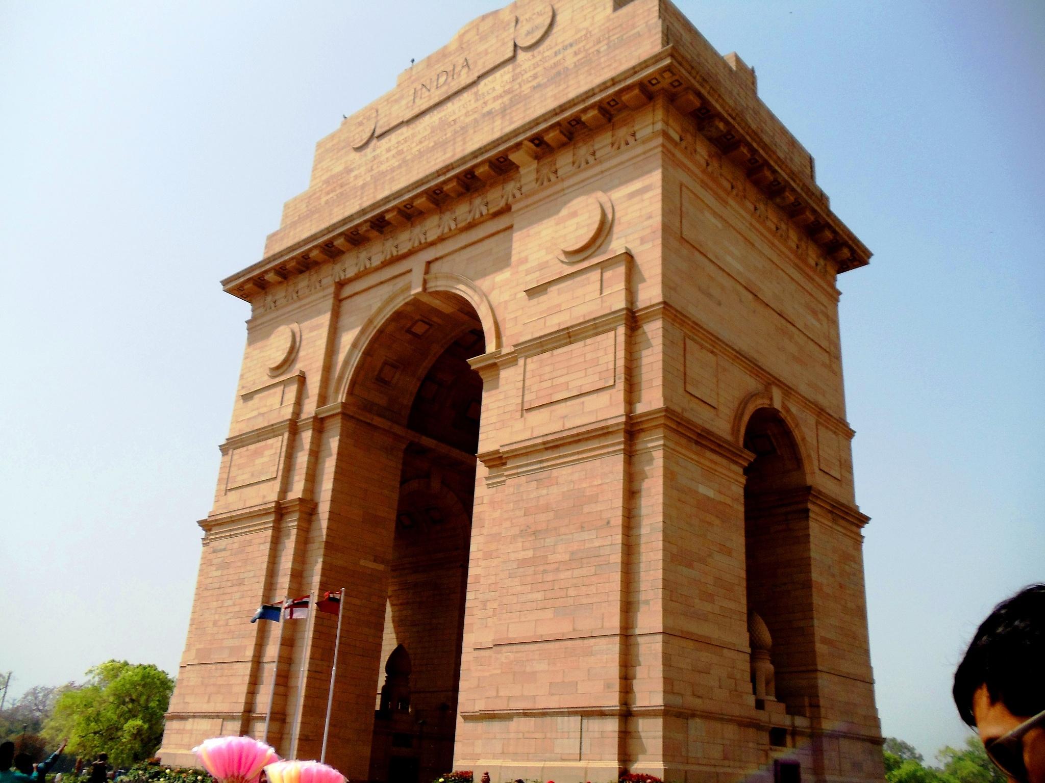 India Gate by Suresh Tewari