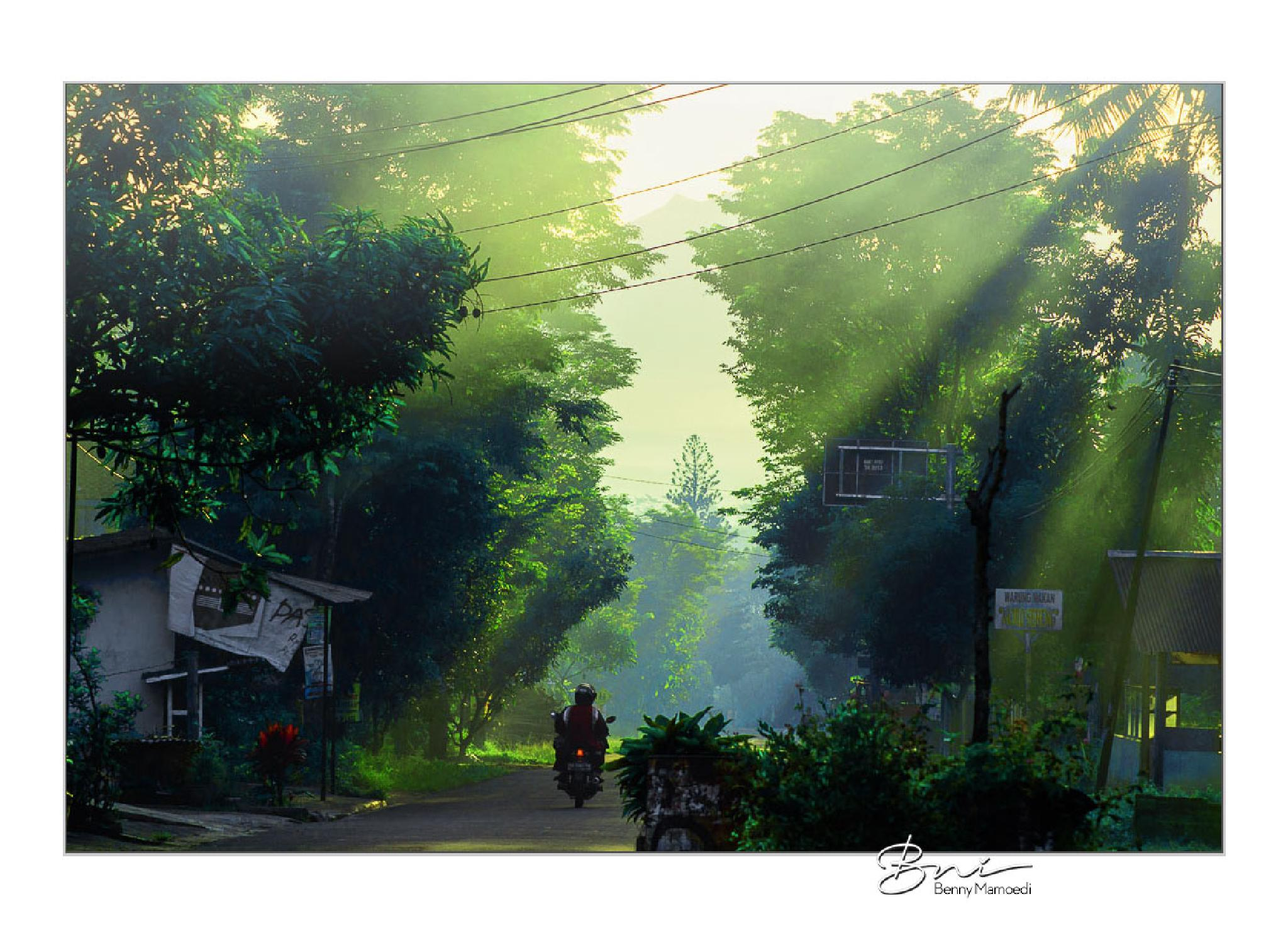 Morning has broken by Benny Mamoedi