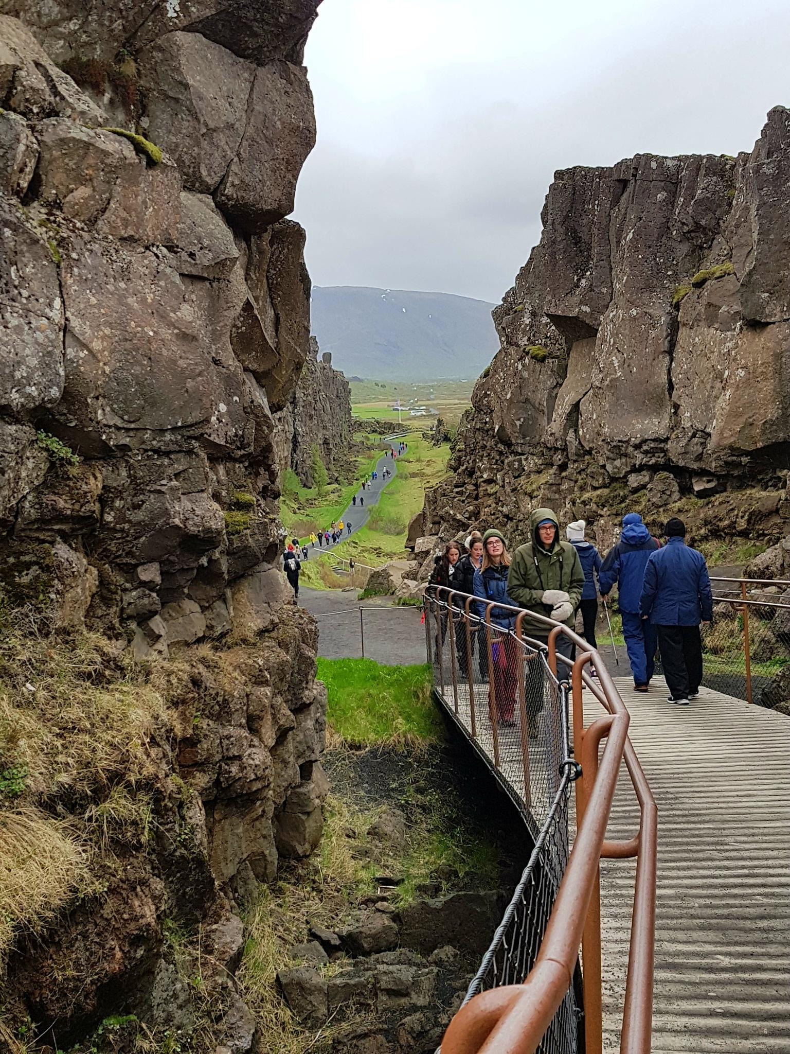 Thingvellir, Iceland by Mary Kallekleiv Ellingsen