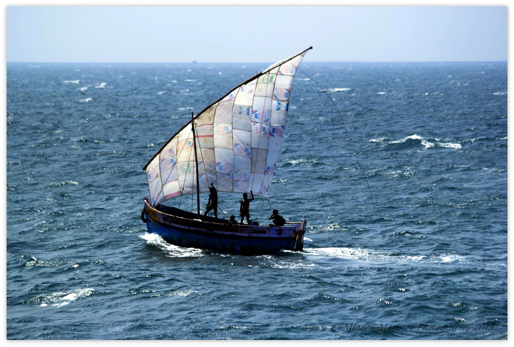 Sailboat by Mladen Marinov (MM)