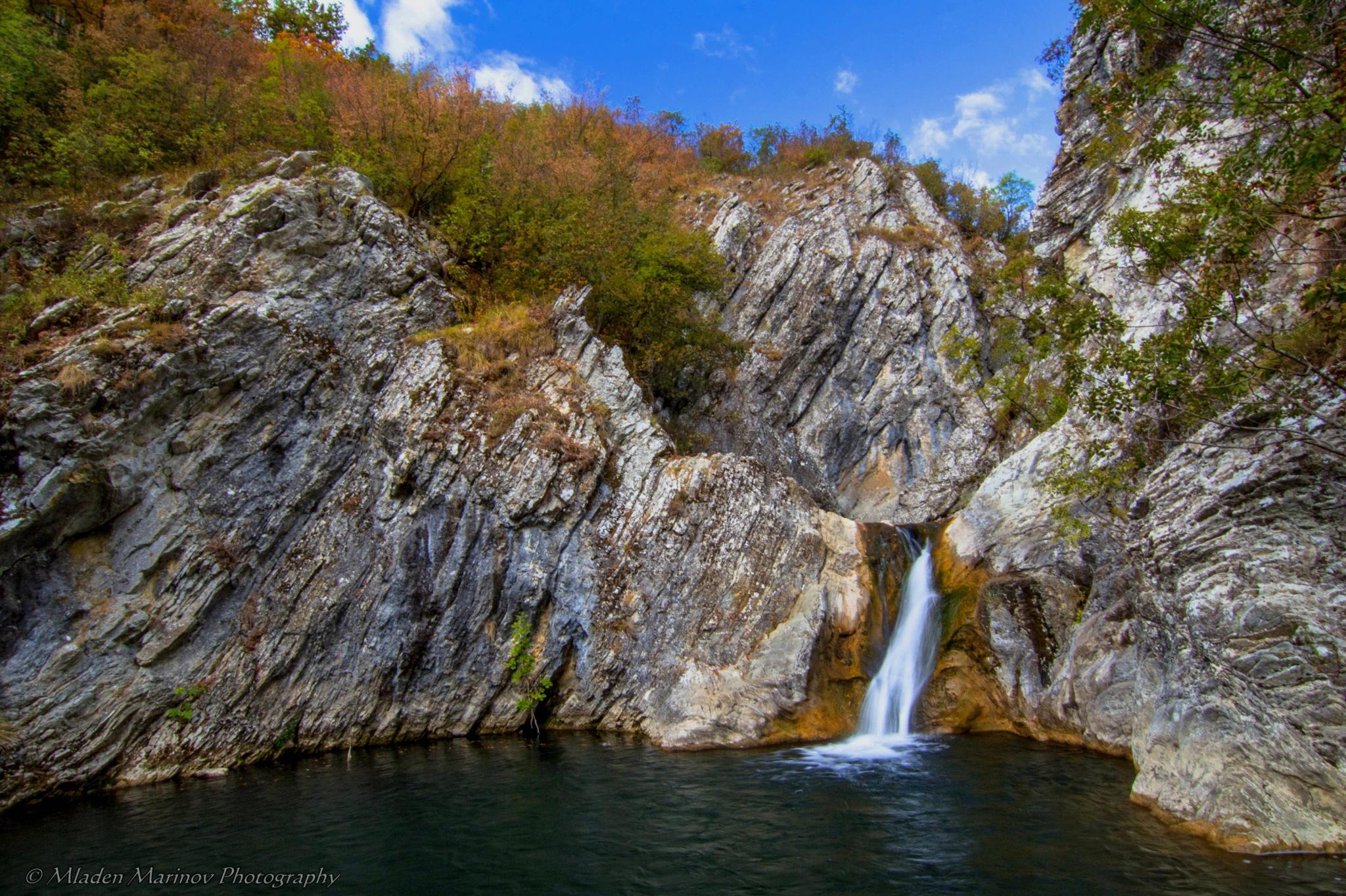 Waterfall by Mladen Marinov (MM)