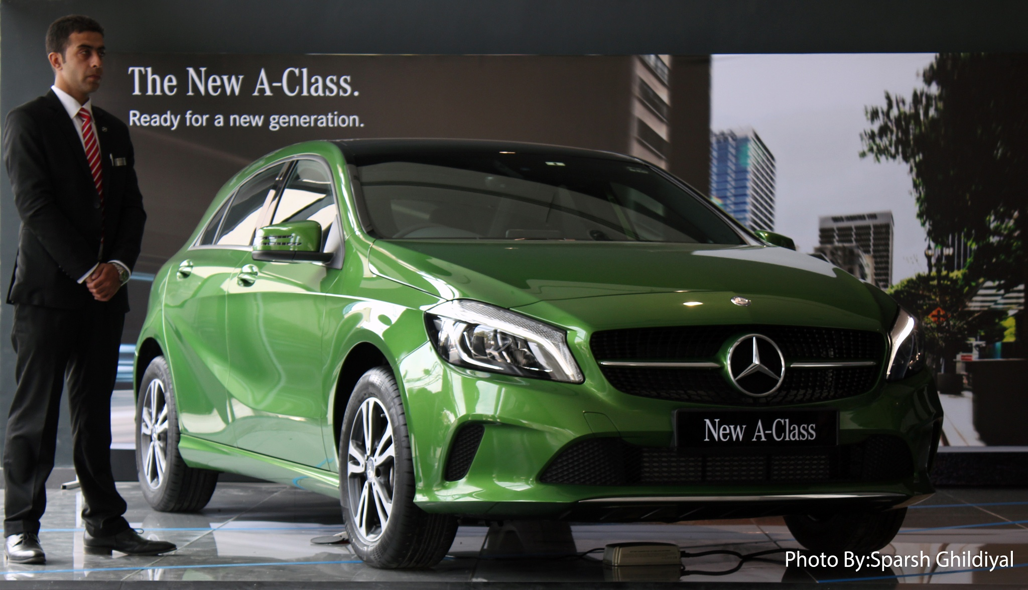 The New A class by Sparsh Johnny Ghildiyal