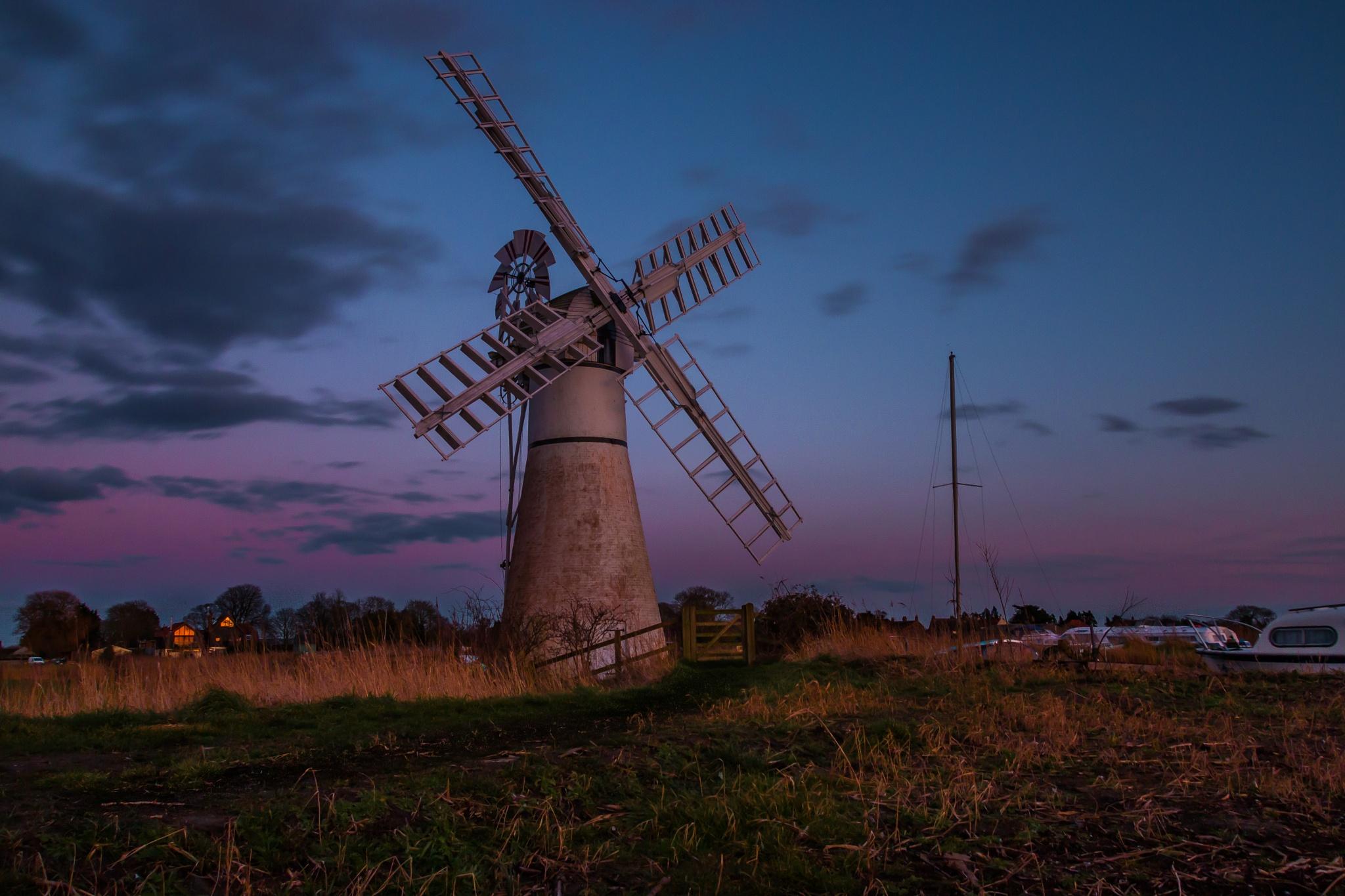 Thurne Windmill by Codeye