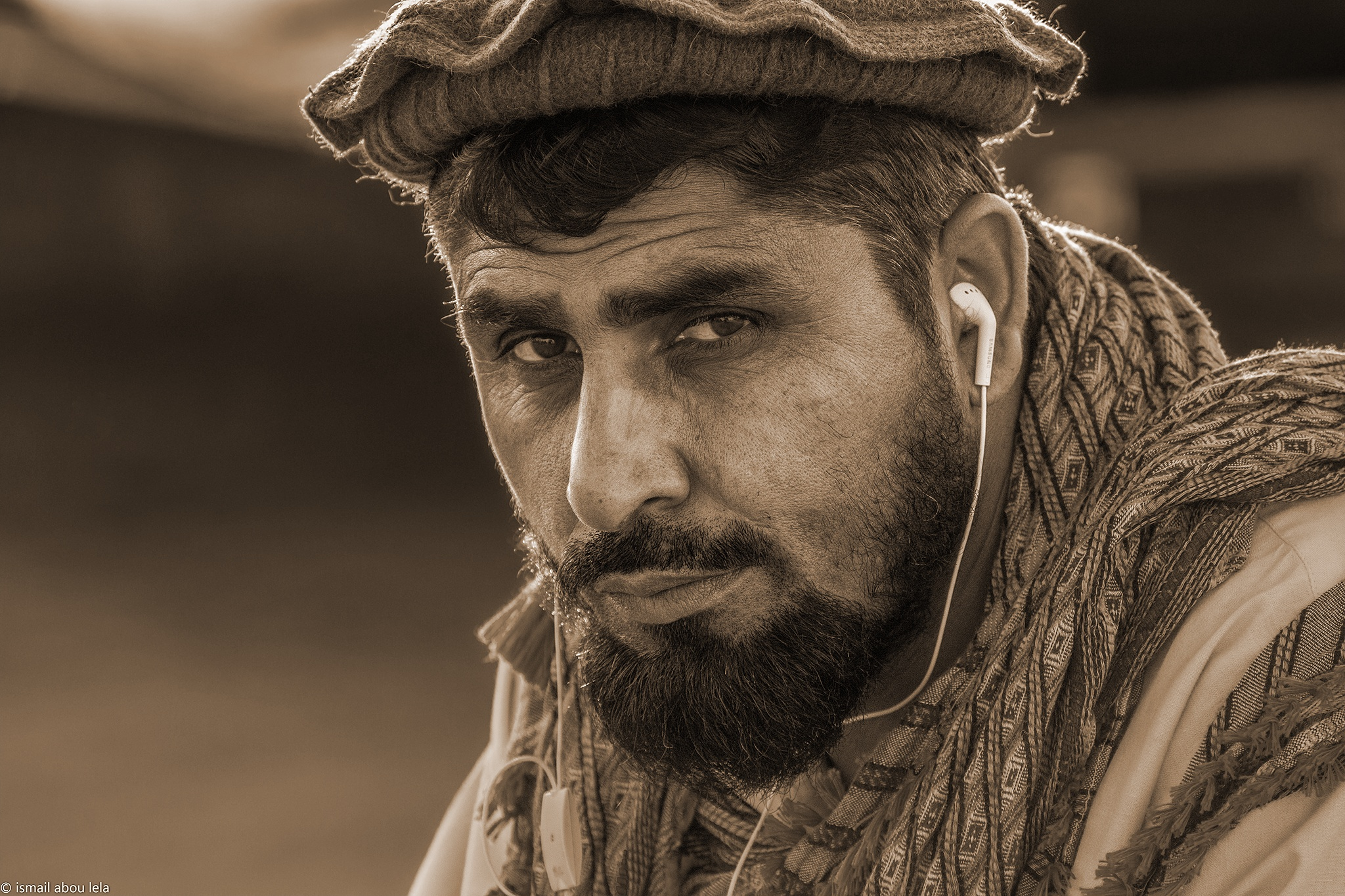 The Man by Ismail Abou Lela