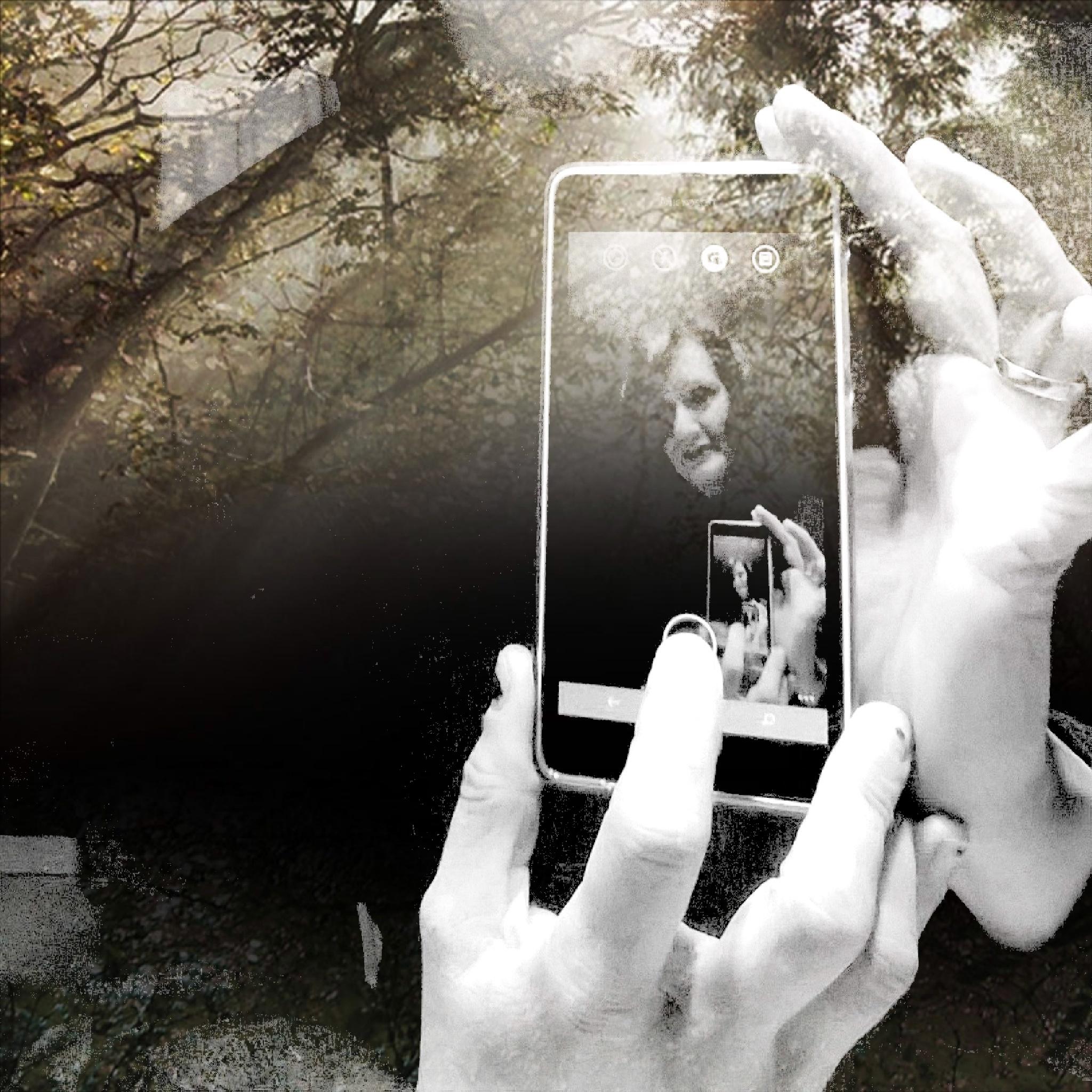 ha ha ha , romantic selfie by Ioana Dumitriu