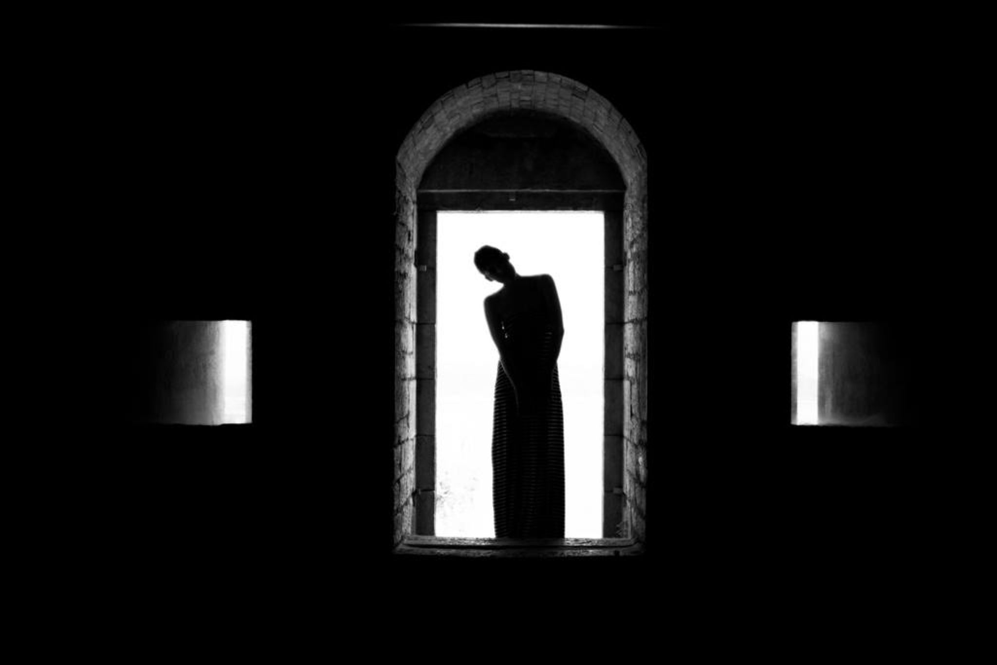 Shadows in Corfu by Vatos Paraskevas