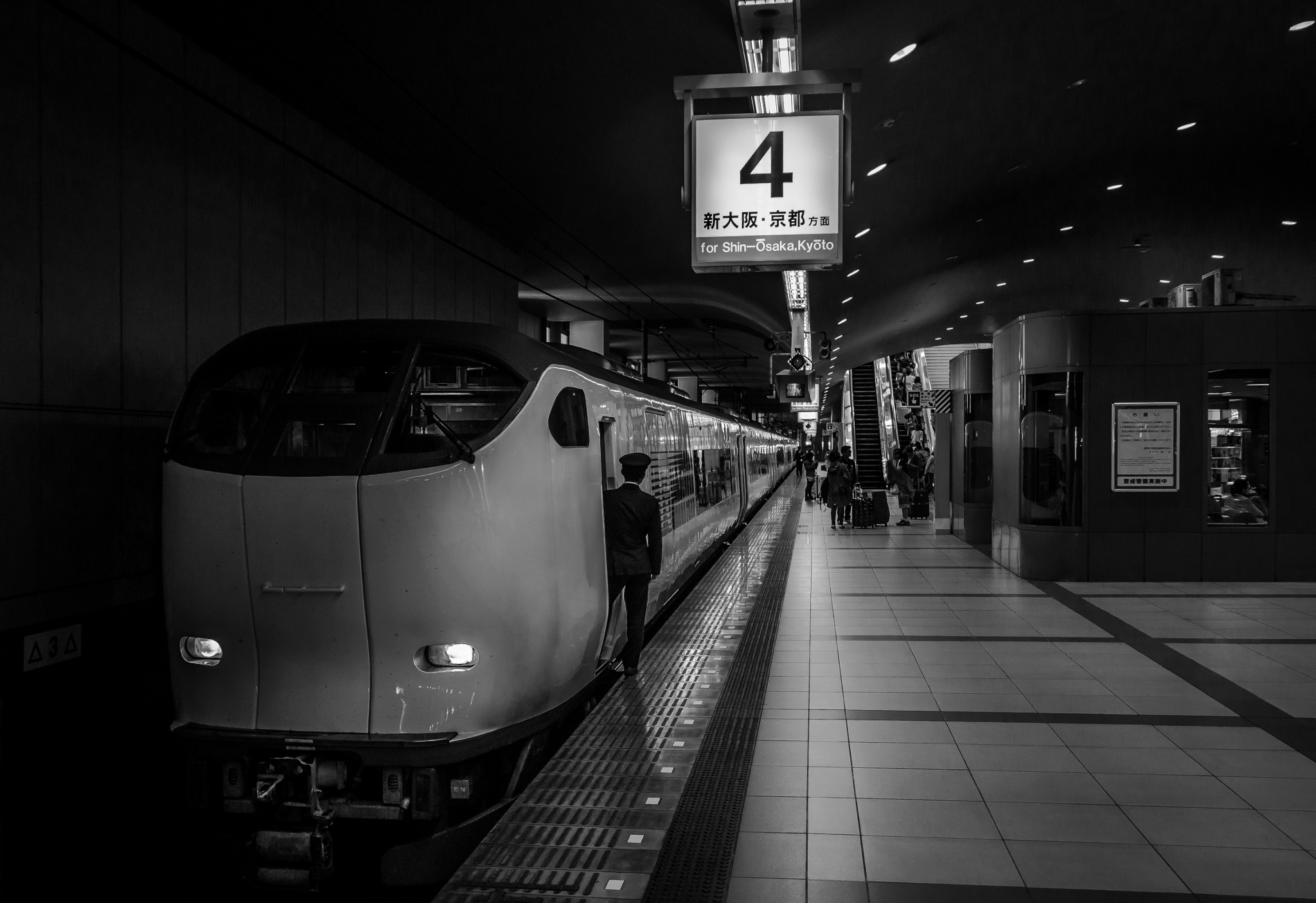 Osaka Train by Niklas Ericsson