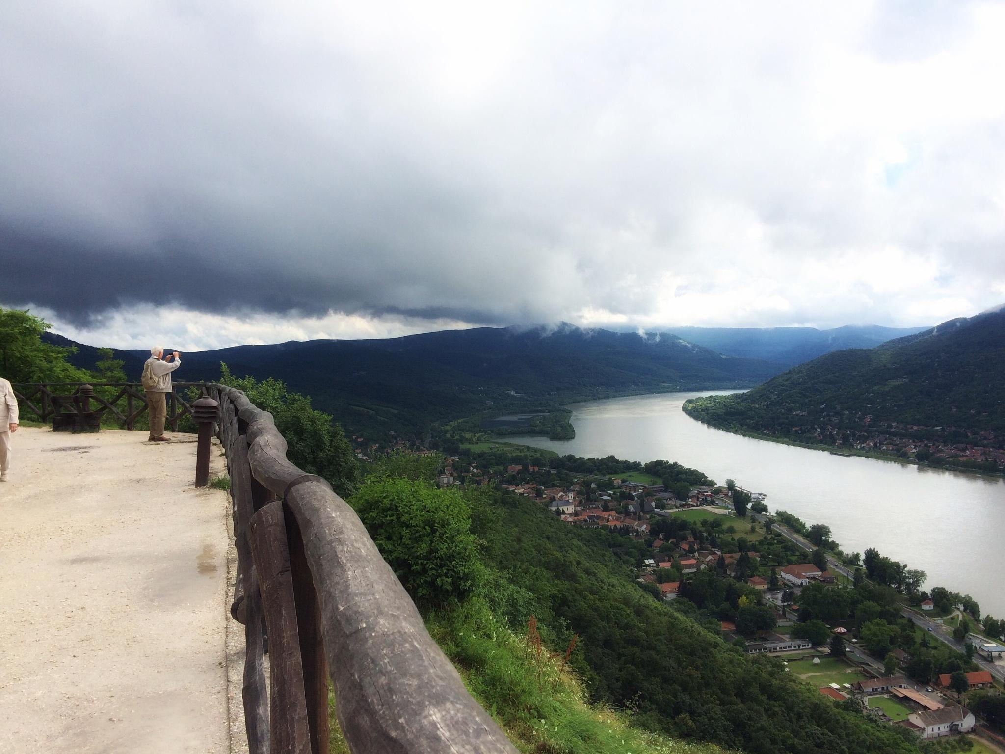 Visegrad Castle - Hungary  by Korinna J.