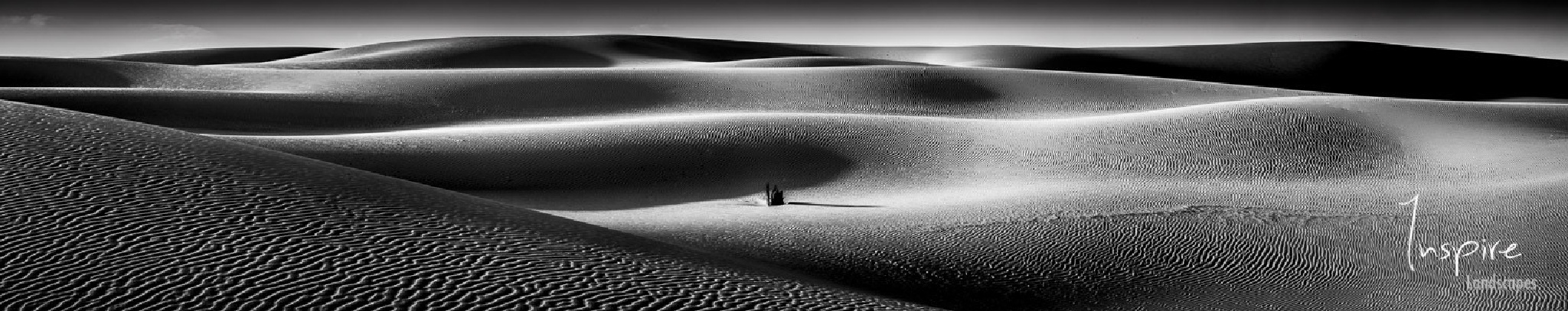 Sand Dune Panoramic by inspirelandscapes