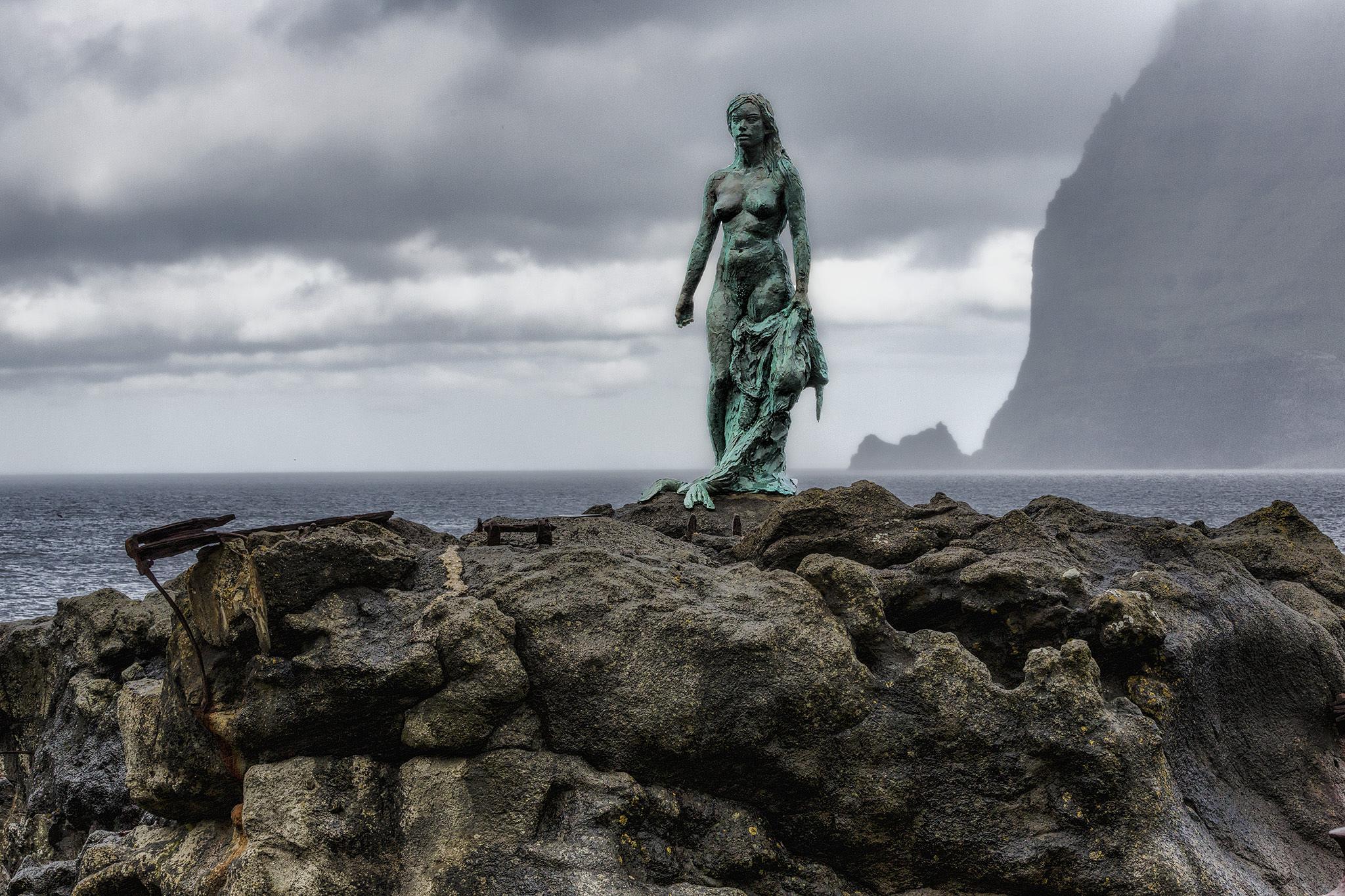 Kópakonan in Kalsoy  by Faroe Islands Hiking