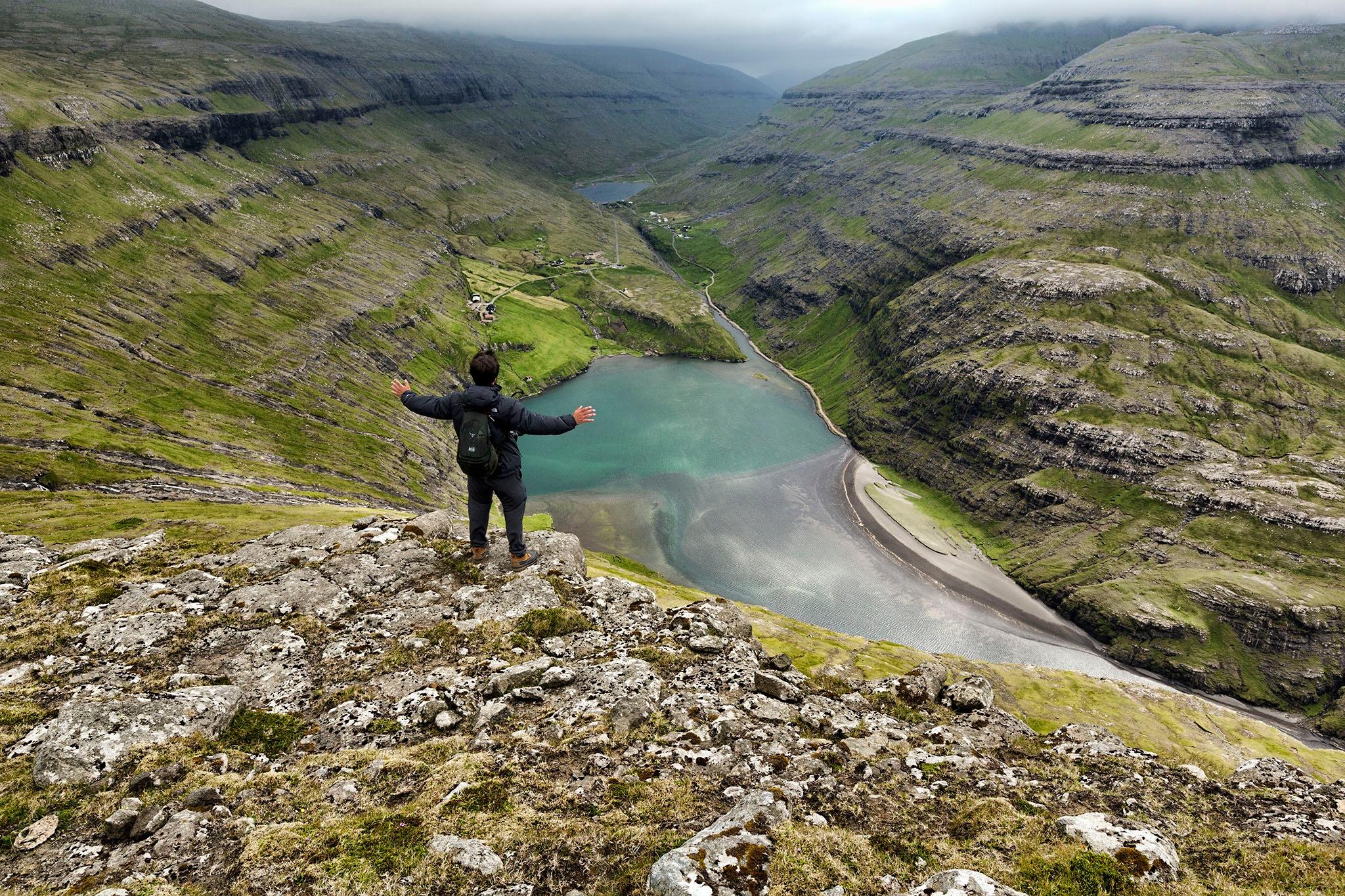 Amazing Saksun by Faroe Islands Hiking