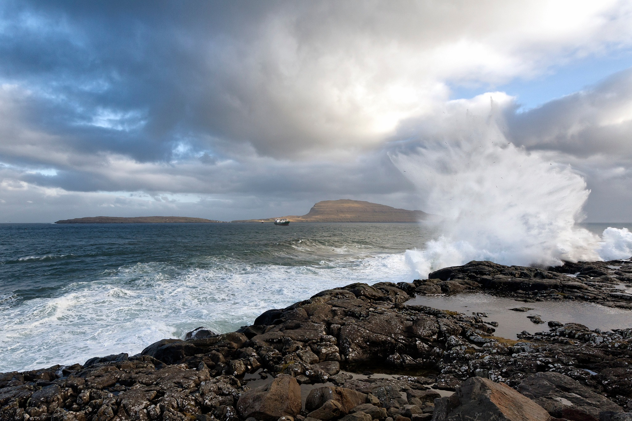 Photo in Nature #ocean #tórshavn #torshavn #faroe islands #nature #landscape #capital