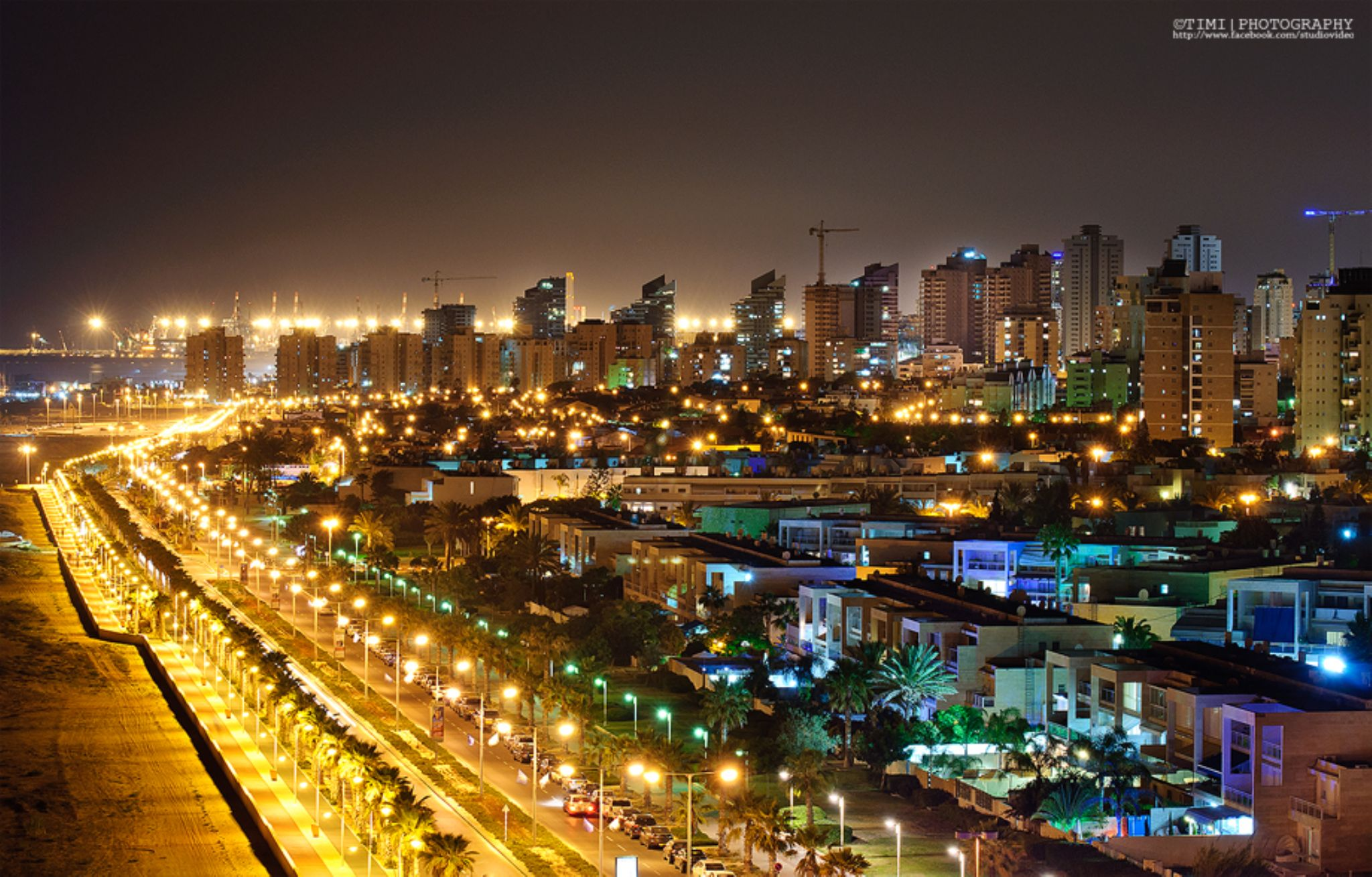My city at night by TimiPhotographer