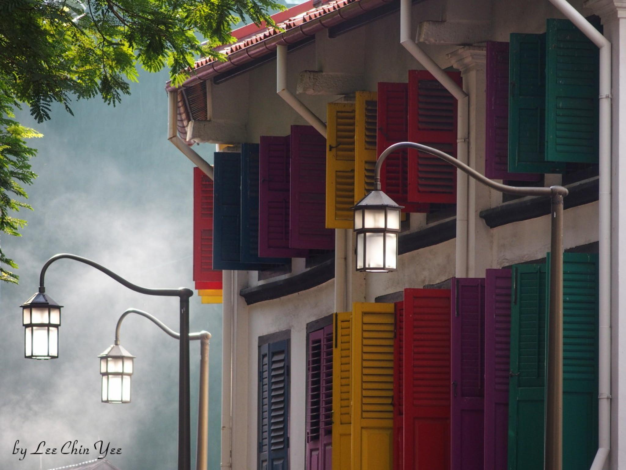 Amoy Street by Chinyee