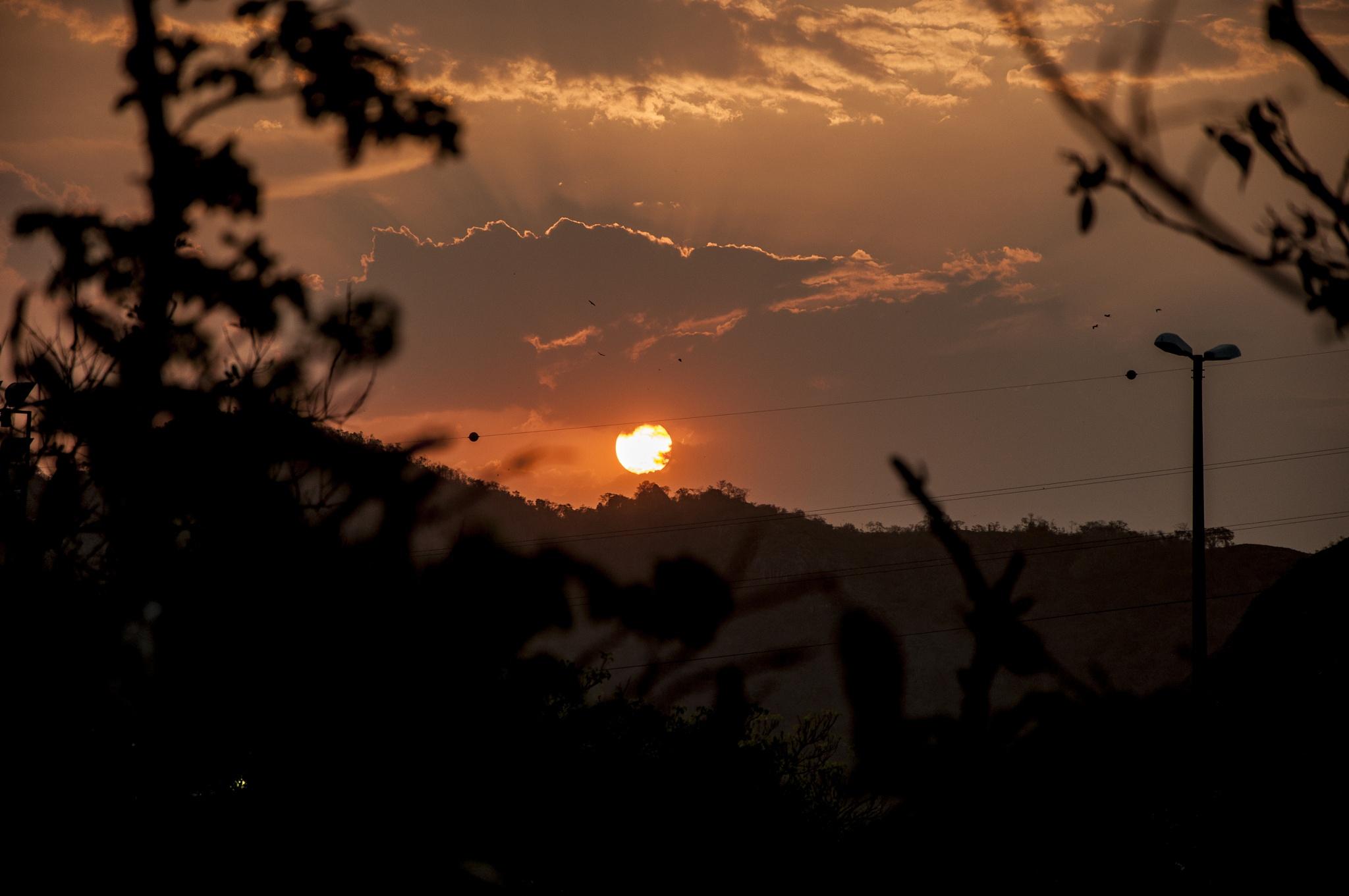 sunset in Vitória by Alexandre Ricardo