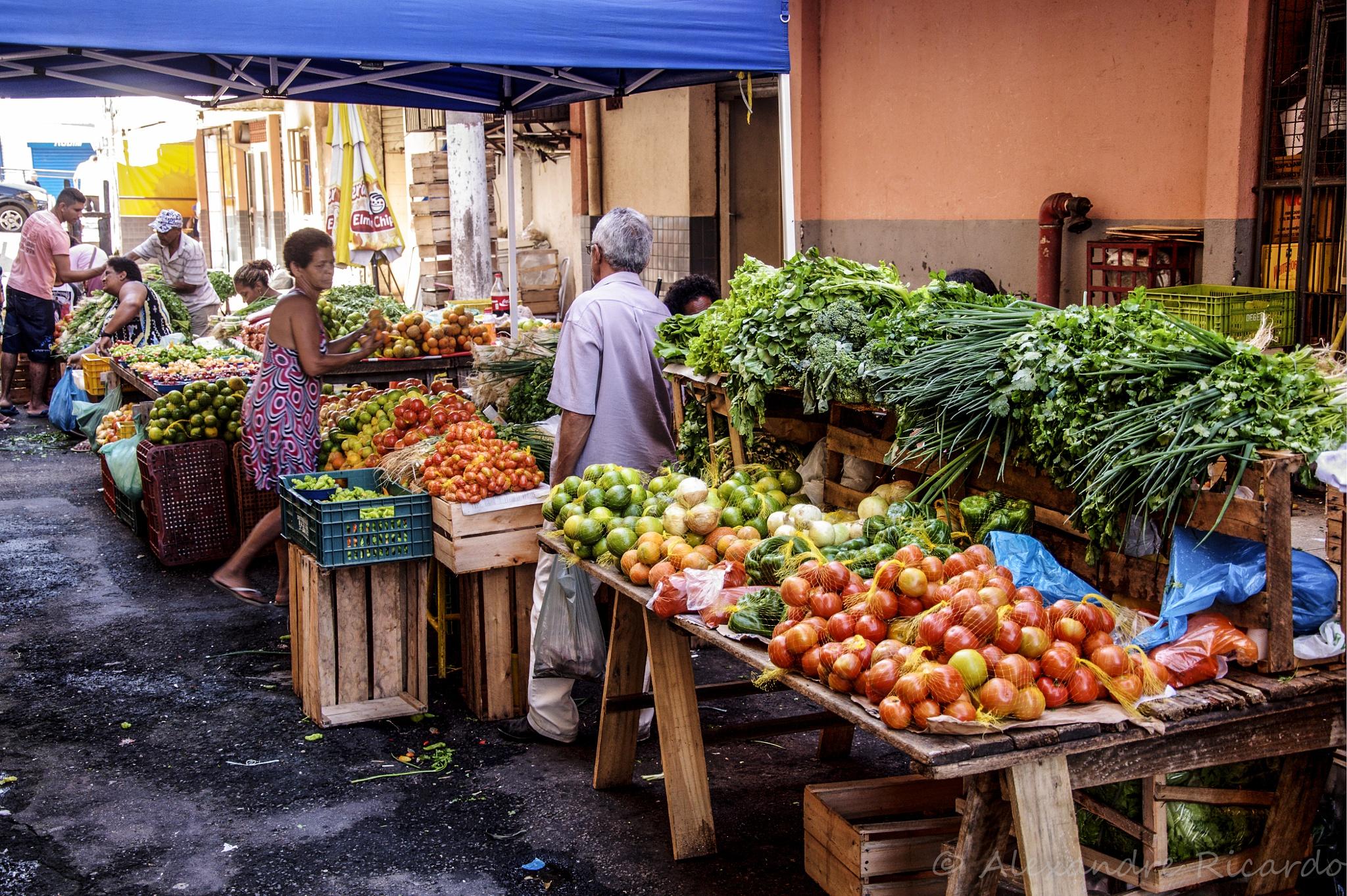 Mercado Vila Rubim em Vitória - Brasil by Alexandre Ricardo
