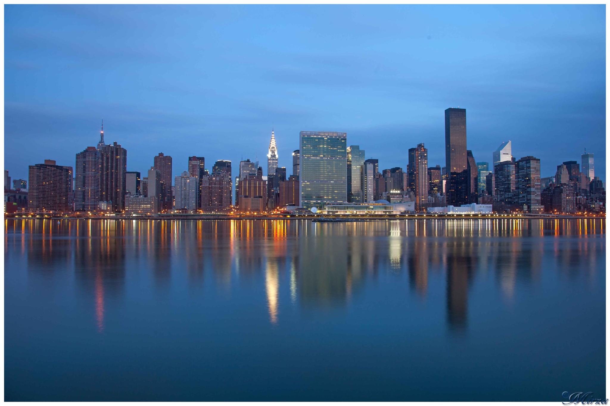 Manhattan by mzpasic