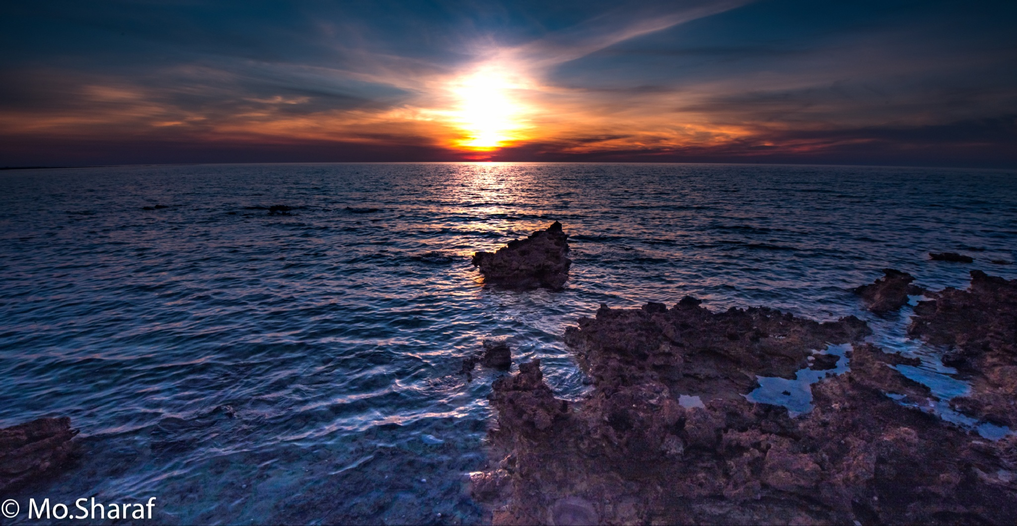 Strong sunset by ¥-Mo.Sharaf-¥
