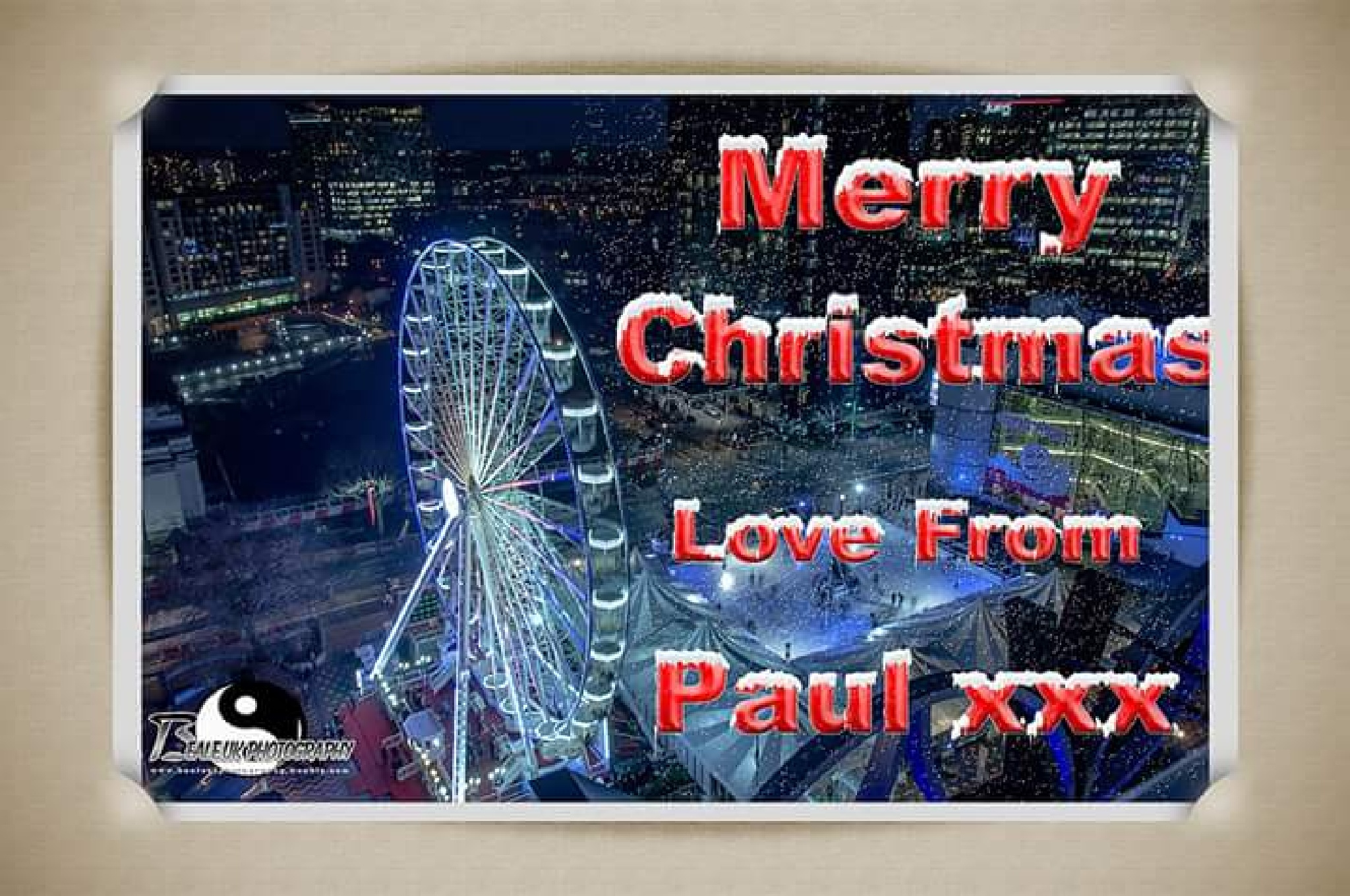 Merry Christmas Everyone xxx by Paul Beale LRPS