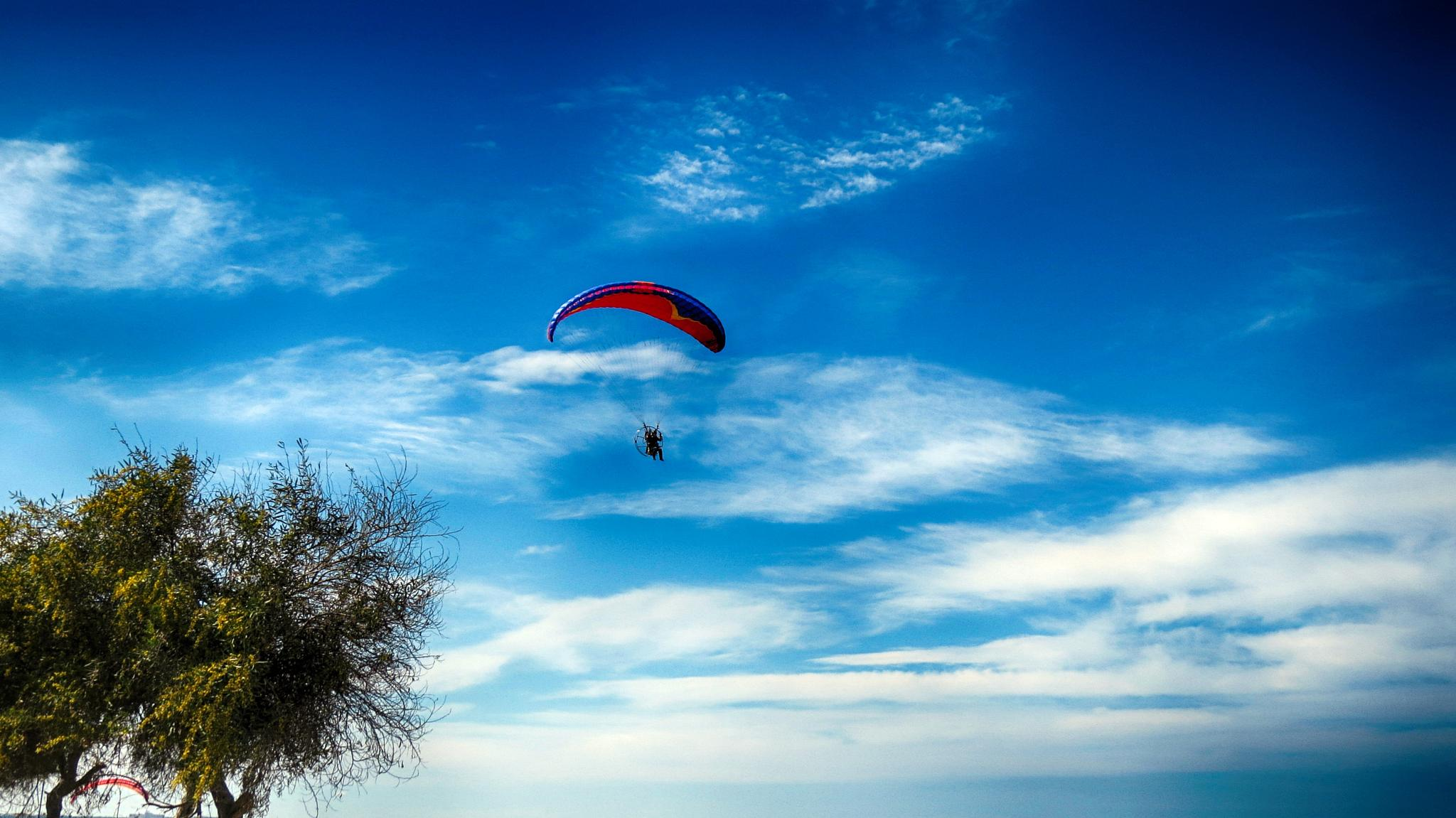 Paragliding by SOGUKPINAR