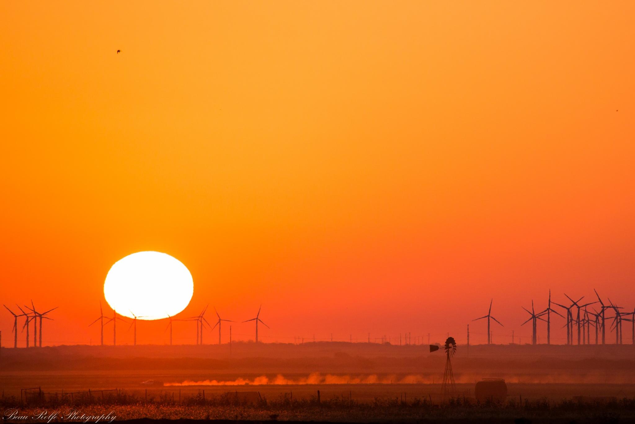 West Texas Sunrise by Beau Rolfe