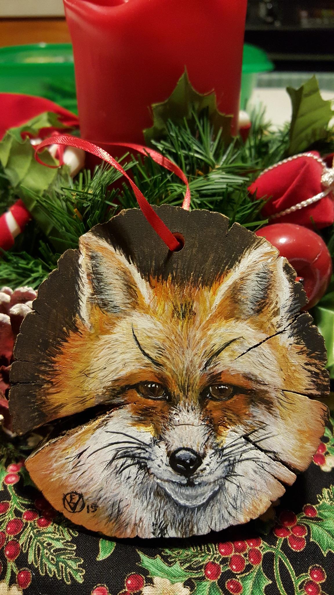 Fox ornament  by Steve Umbaugh