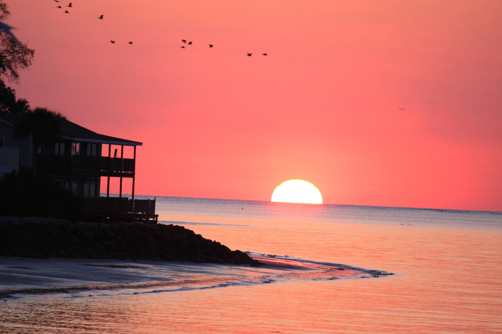 Sunrise St Simons by 57falcon